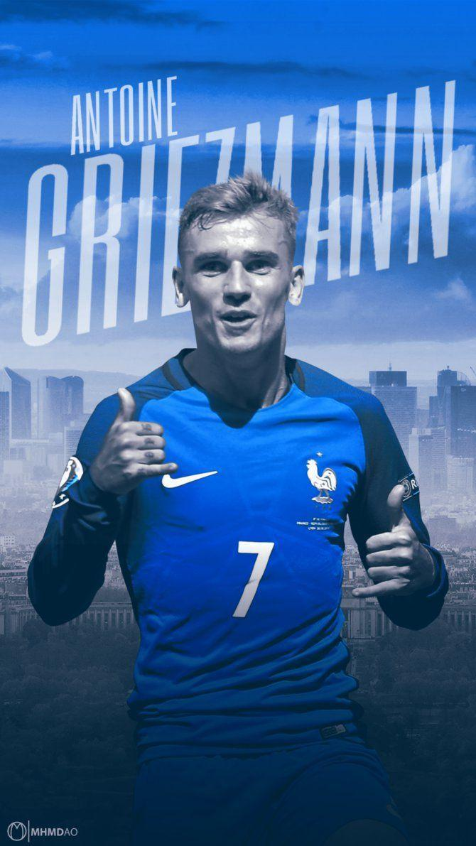 Antoine Griezmann Wallpaper Design by MhmdAo on DeviantArt