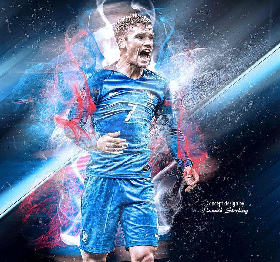 Antoine Griezmann wallpaper by HPS74 on DeviantArt