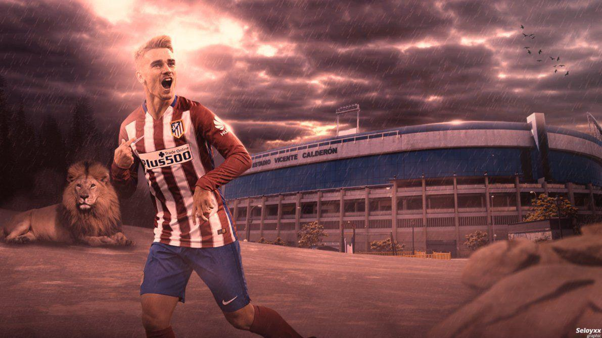 Antoine Griezmann wallpaper by seloyxx on DeviantArt