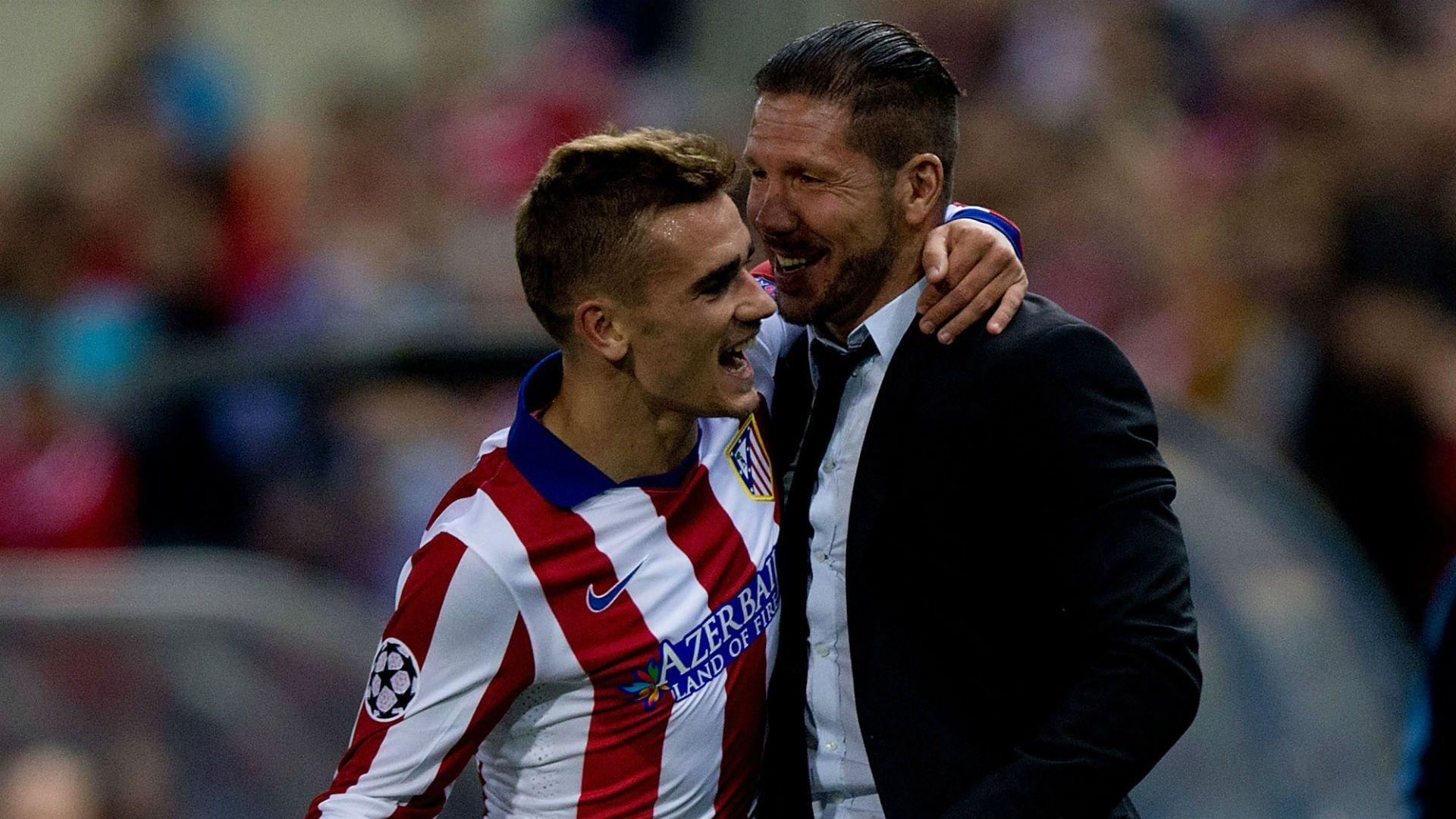 Antoine Griezmann With Diego Simeone Wallpaper #4737 Wallpaper ...