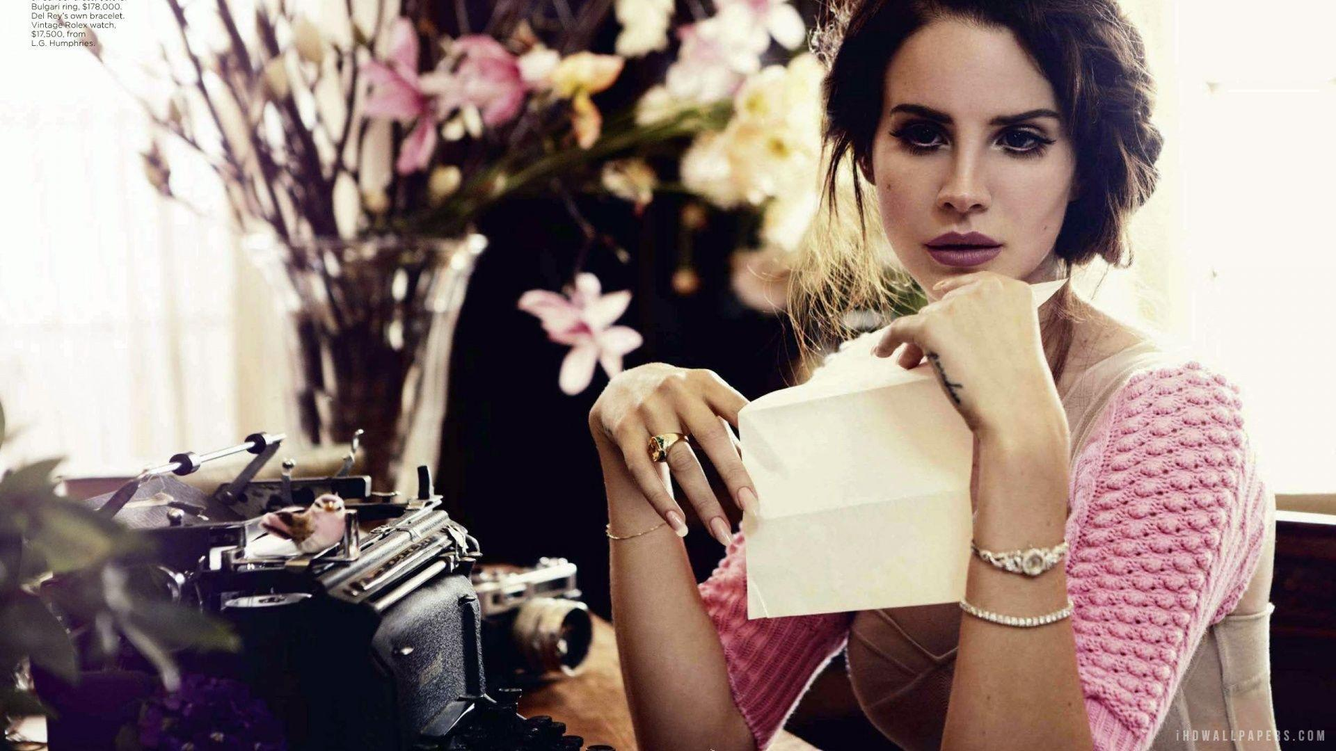 Lana Del Rey HD Wallpaper - iHD Wallpapers