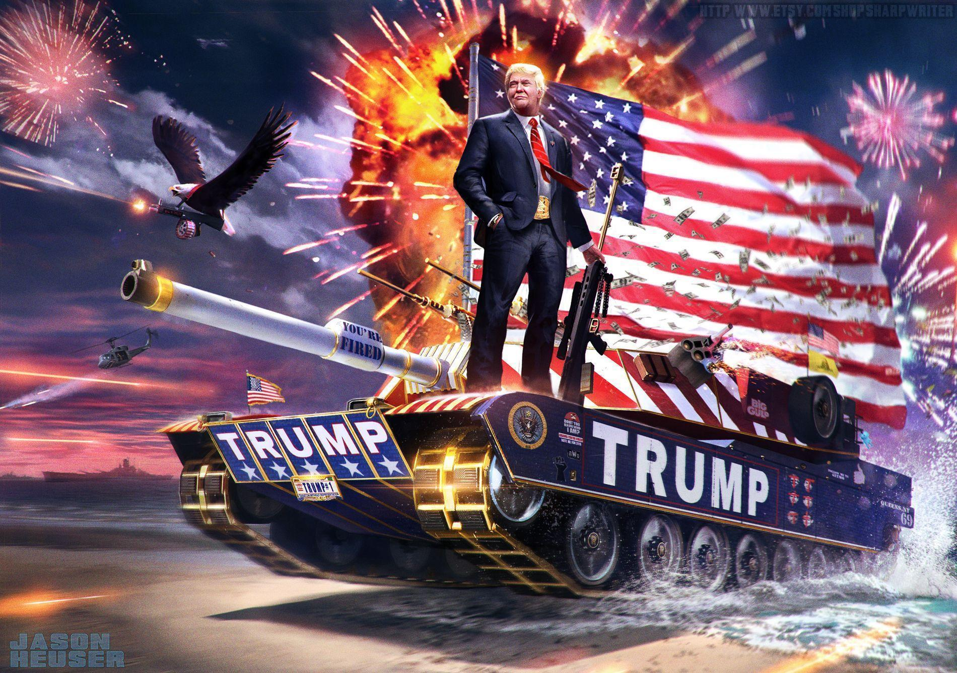 Trump 2020 Wallpaper