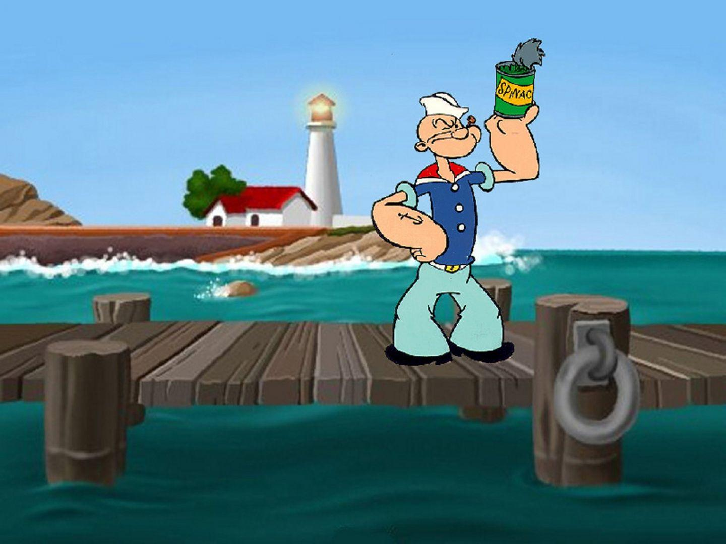 Popeye Wallpapers Wallpaper Cave