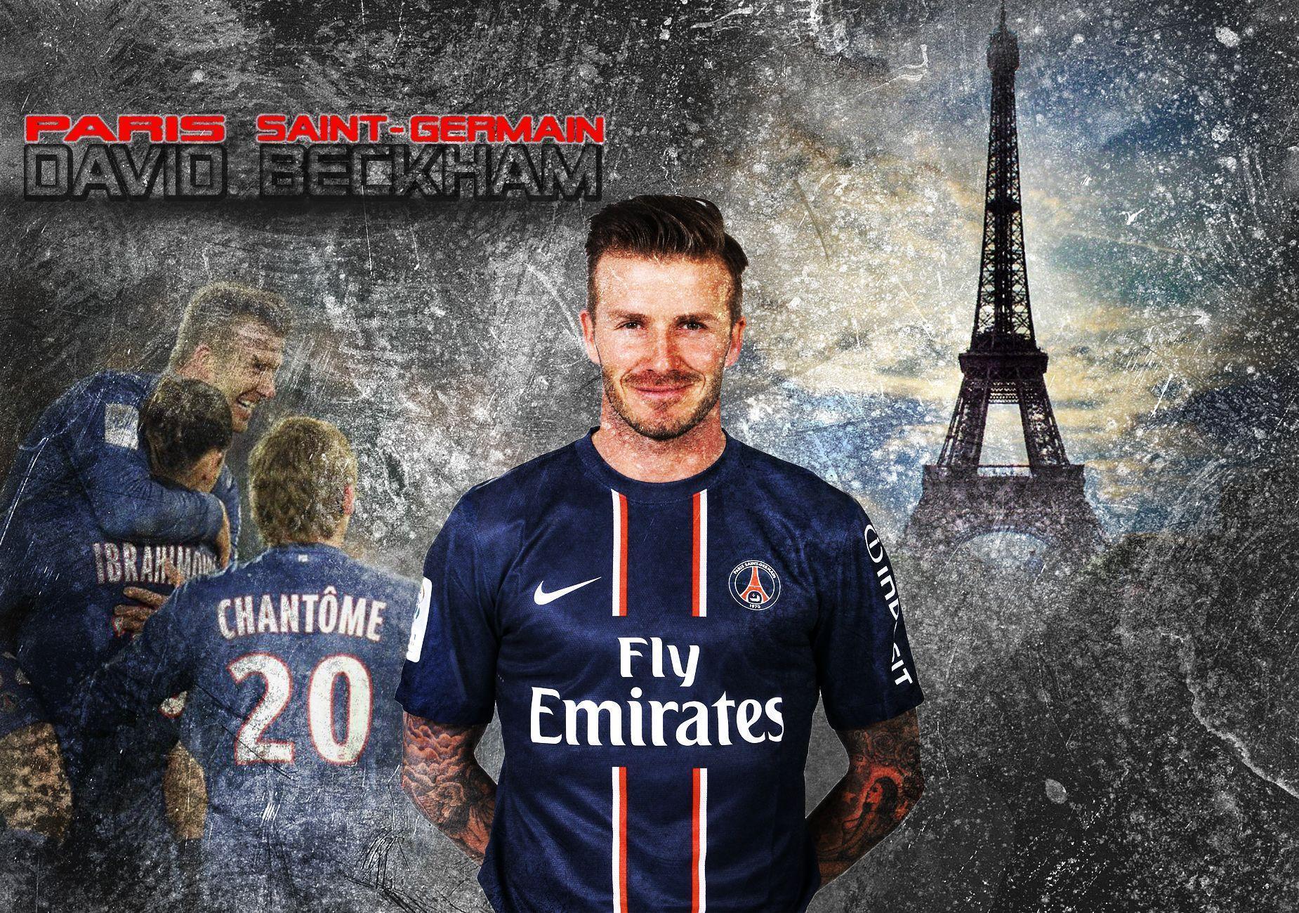 Paris Saint Germain Wallpapers Wallpaper Cave Rh Wallpapercave Com David Beckham Milan England Jersey