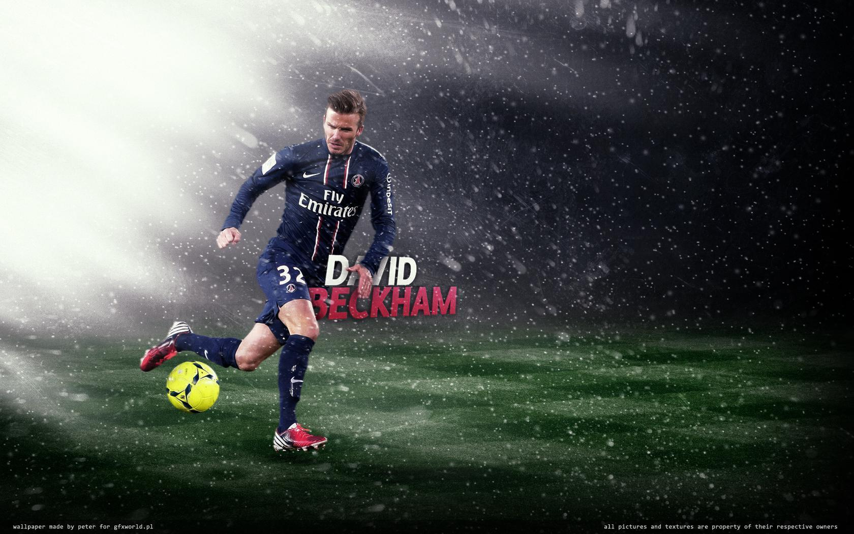 Download David Beckham PSG Football Club Wallpaper HD Free ...