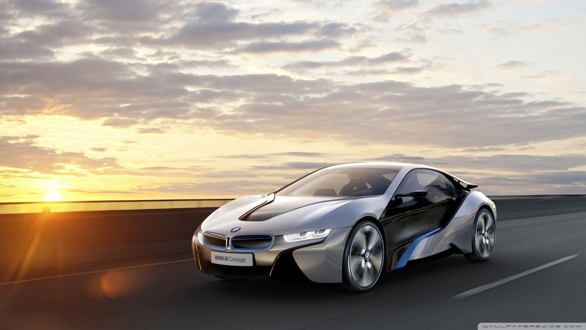Superb BMW I8 Car Concept HD Desktop Wallpaper : High Definition .