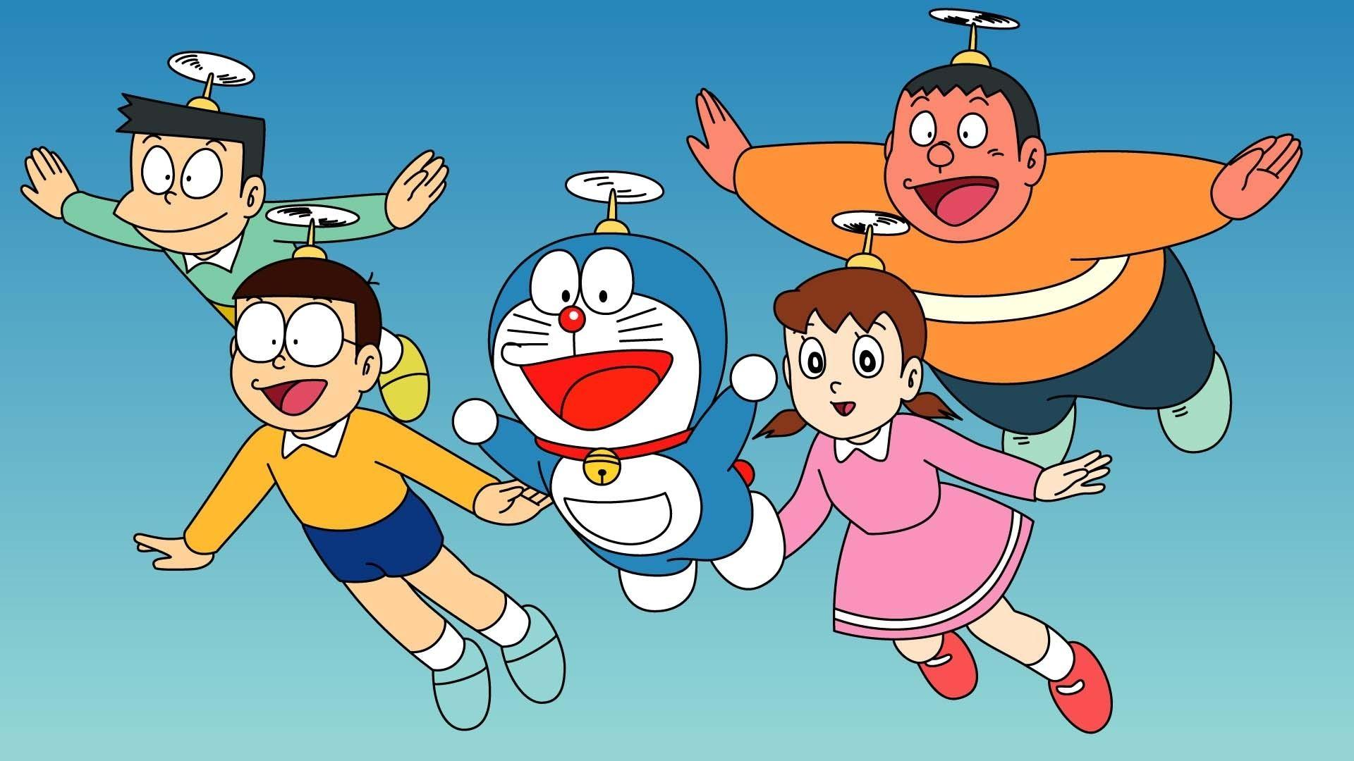 Nobita Wallpapers Wallpaper Cave
