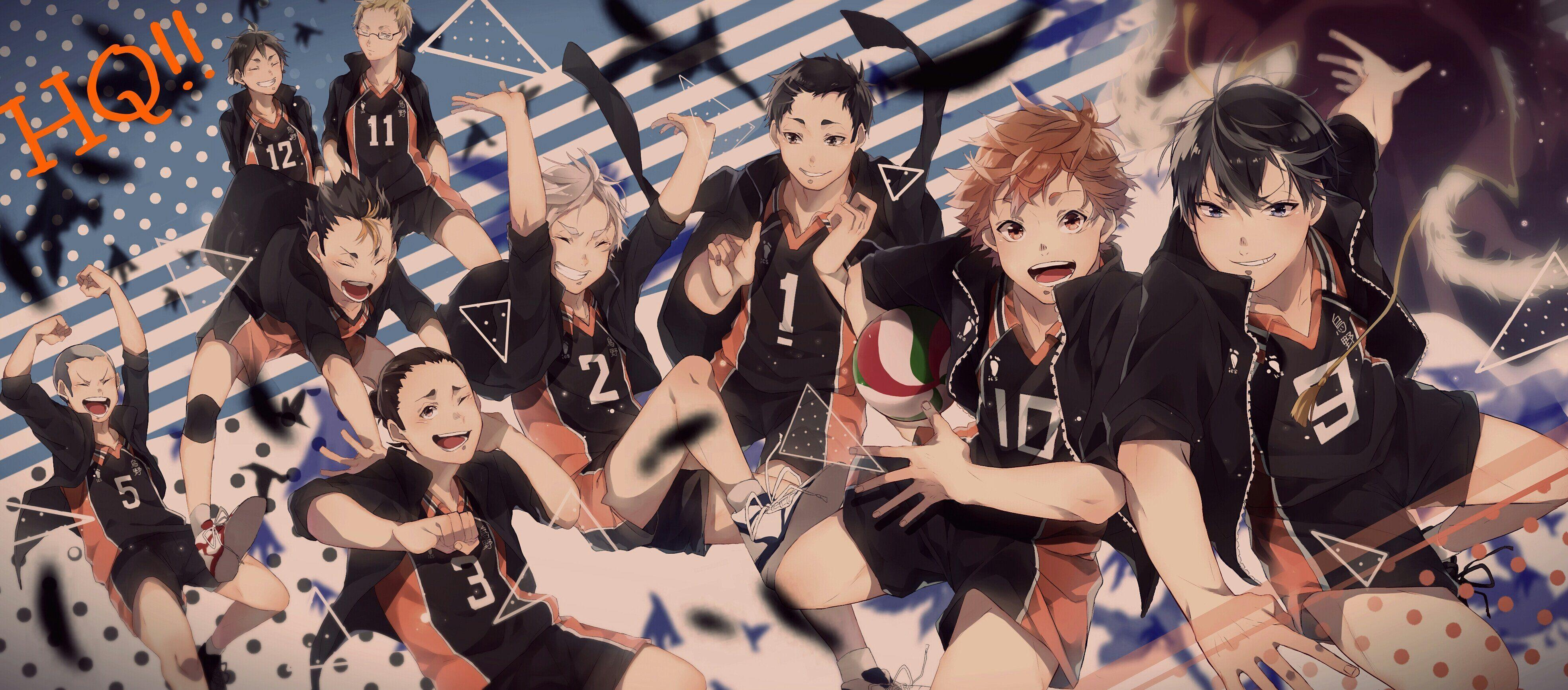 Haikyuu Hd Wallpaper For Laptop Gambarku