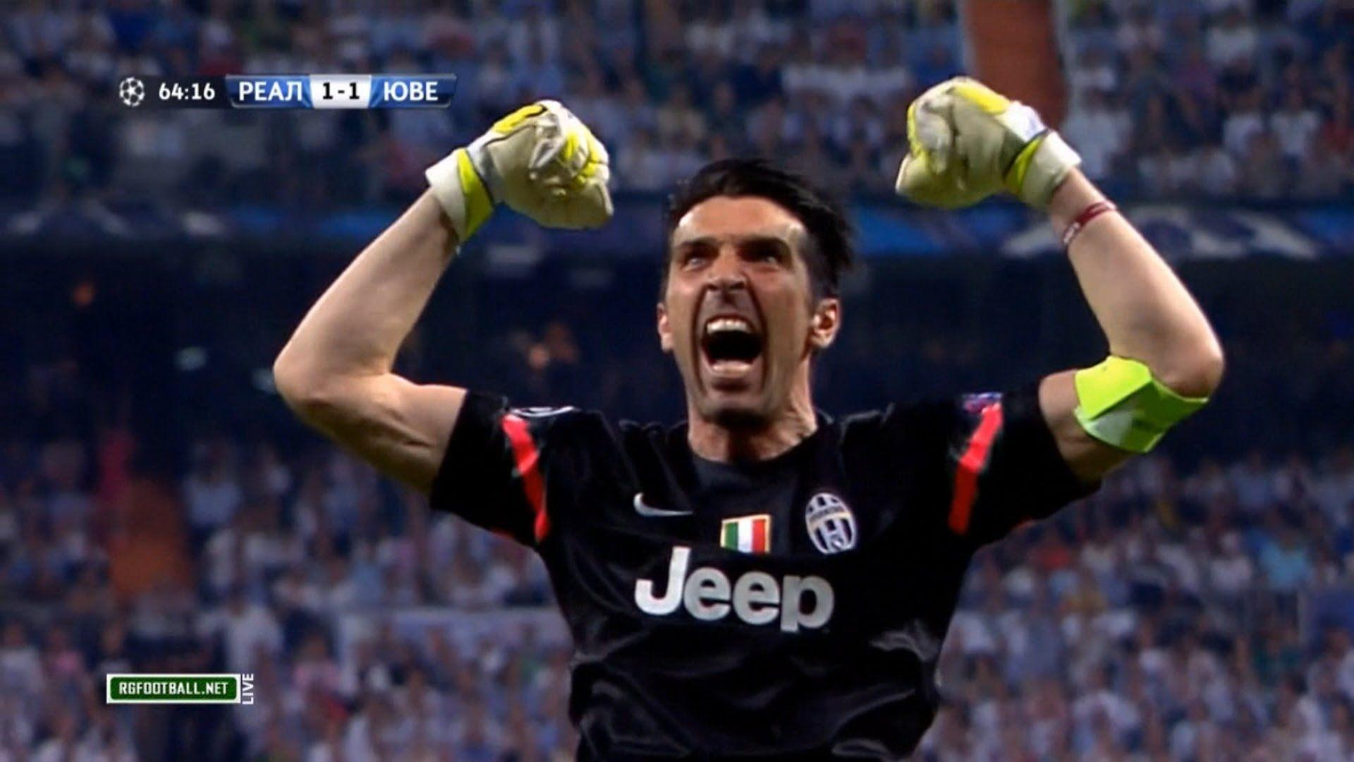 02fc0808ad6 Gianluigi Buffon Vs Real Madrid (Away) 14-15 HD 720p by TSFilms .