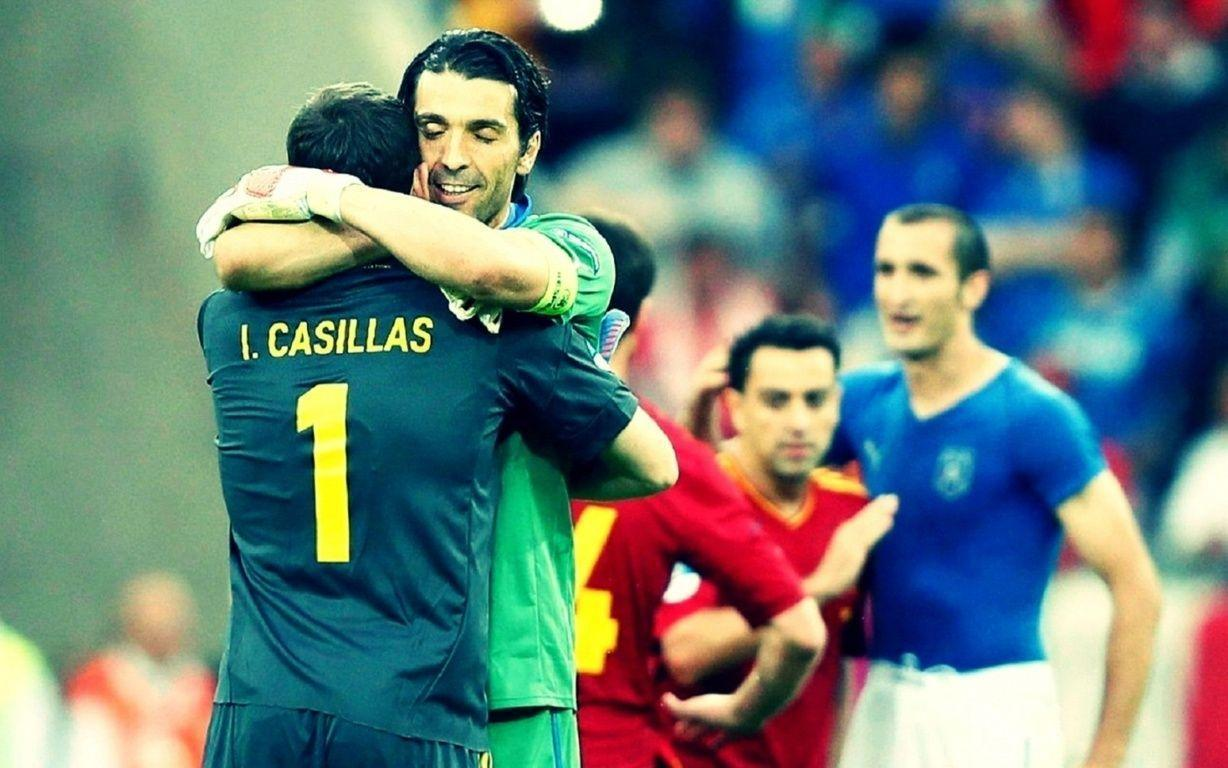 d930ffe748f Gianluigi Buffon Vs Iker Casillas Wallpaper - Football HD Wallpapers