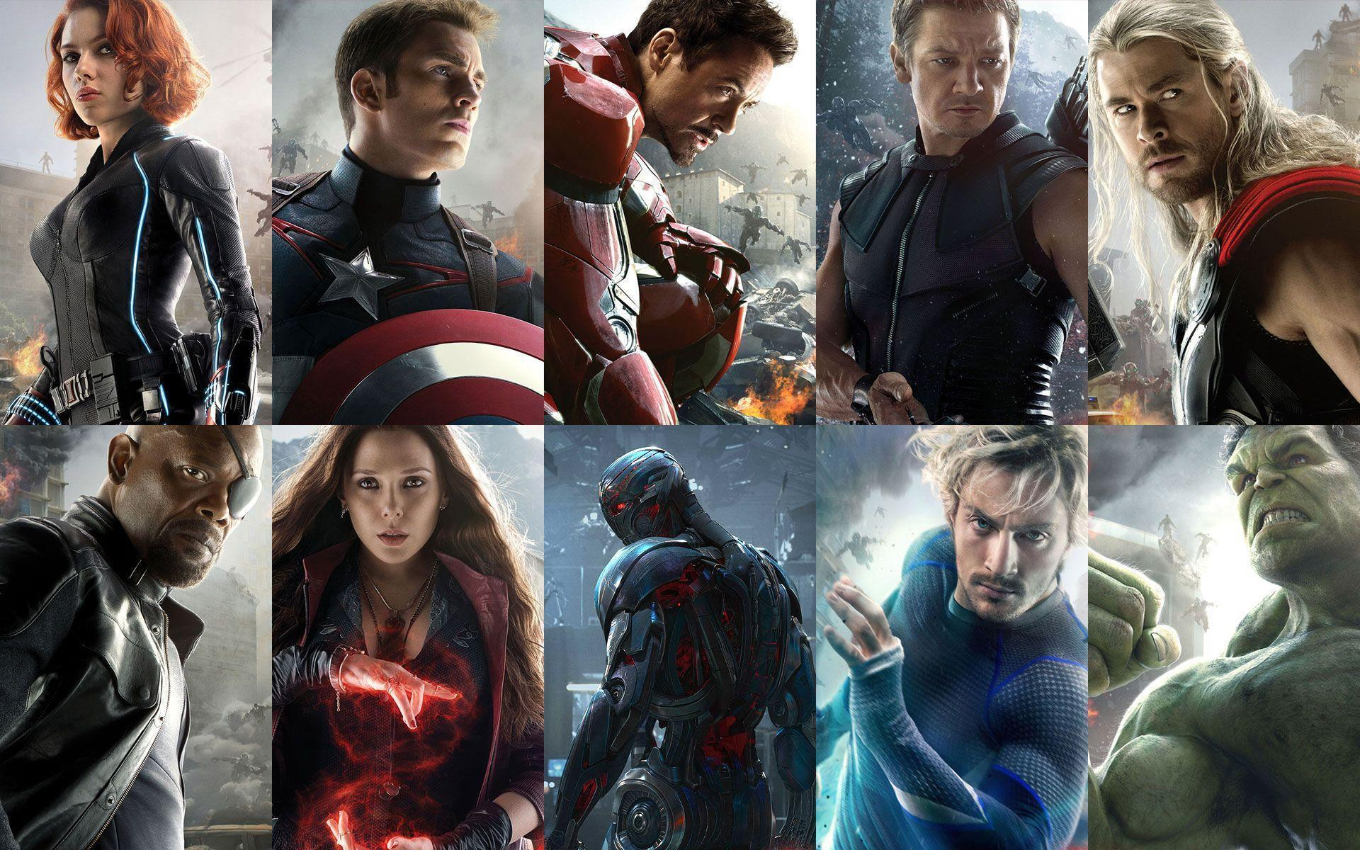 Avengers 2: Age of Ultron 2015 Desktop & iPhone Wallpapers HD