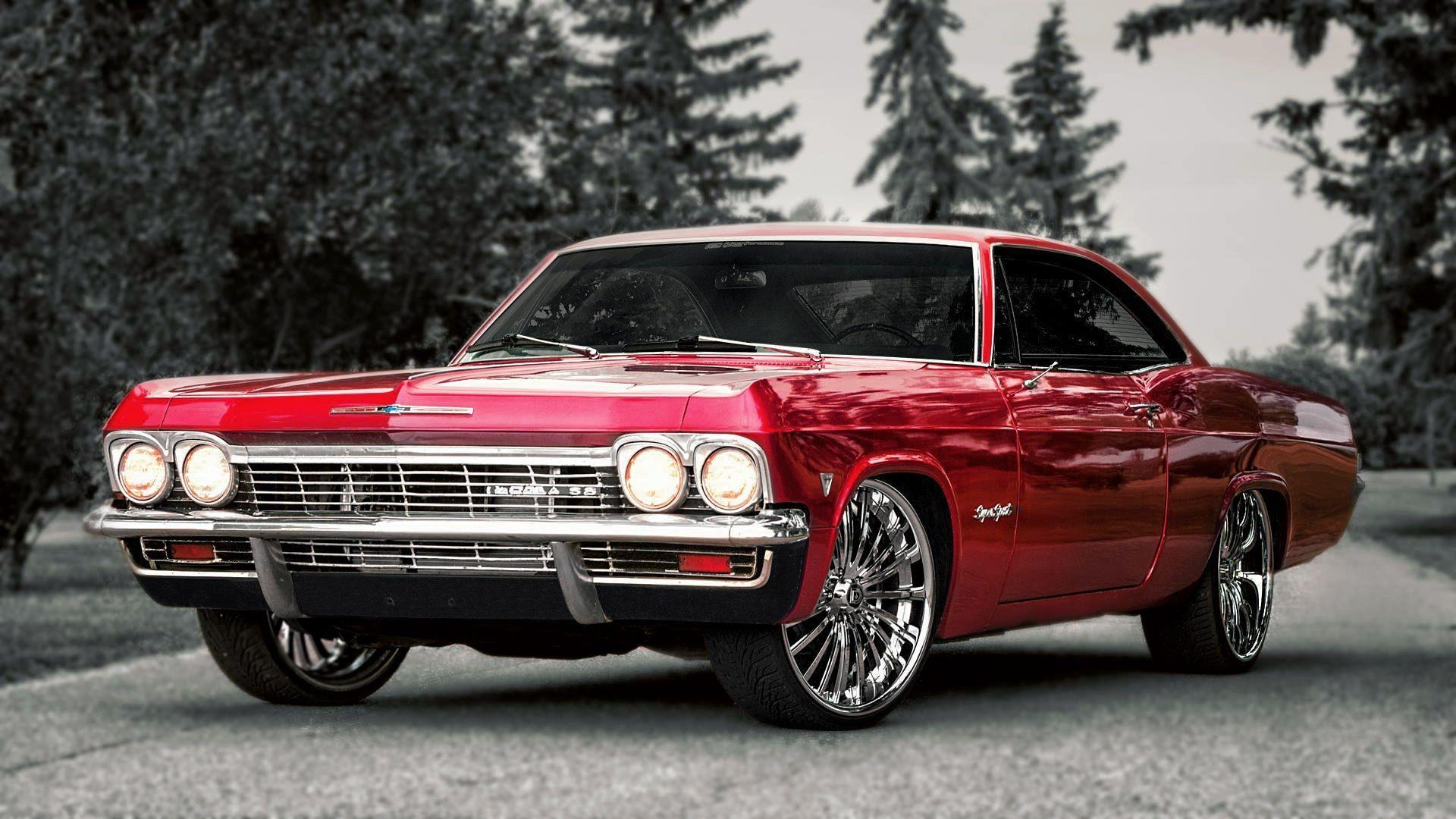 The classical model of Chevrolet Impala SS wallpapers and image