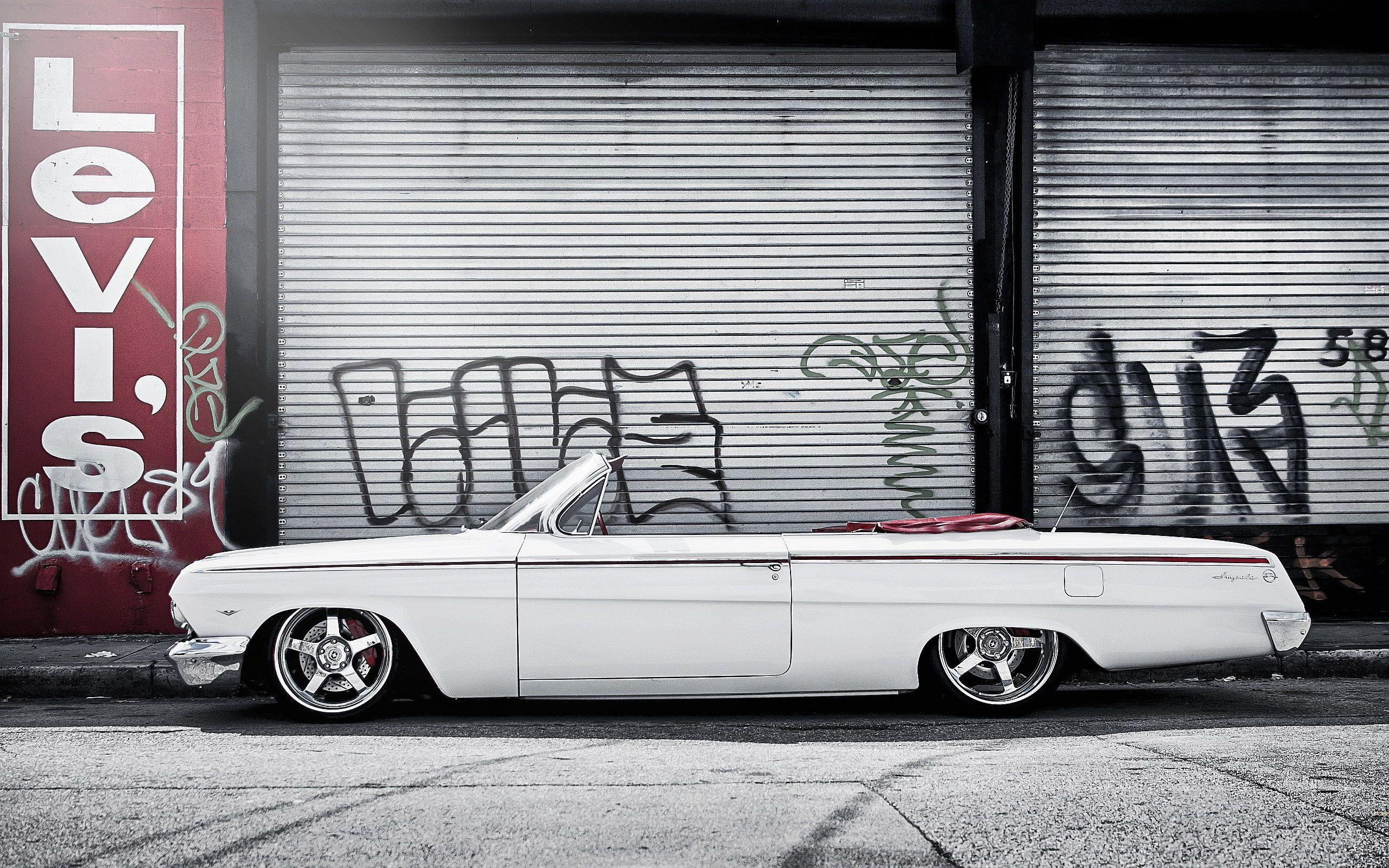 Chevrolet Impala White Wallpapers