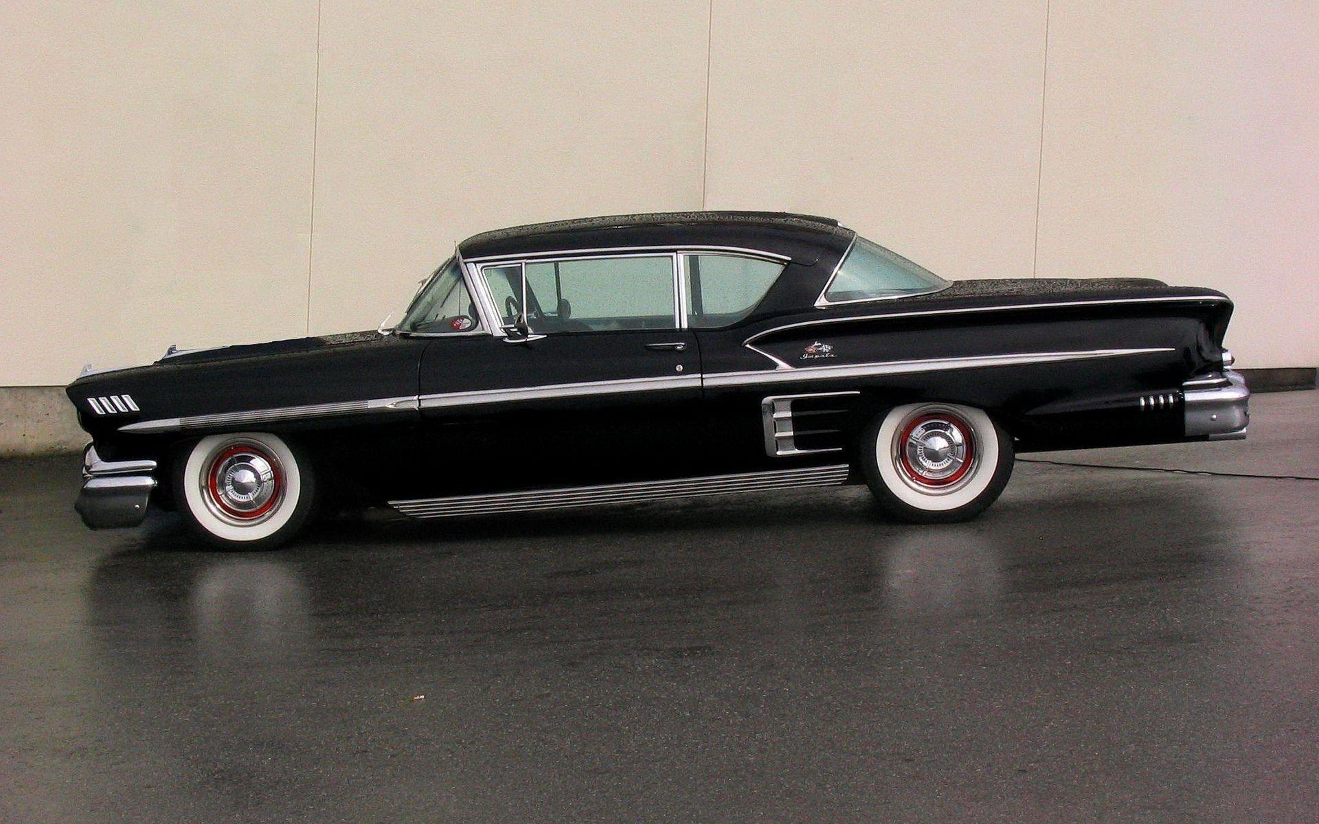 5 1958 Chevrolet Impala HD Wallpapers
