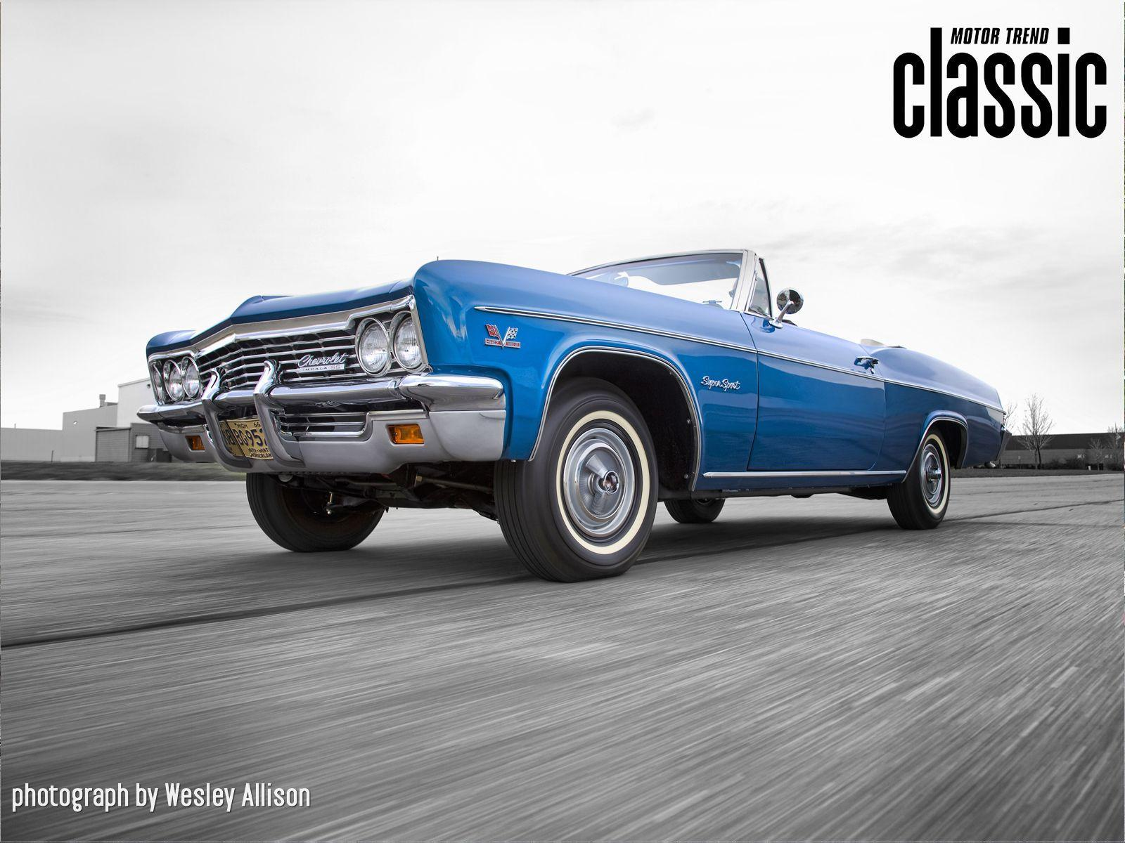 1966 Chevrolet Impala SS427 Convertible Wallpapers Gallery