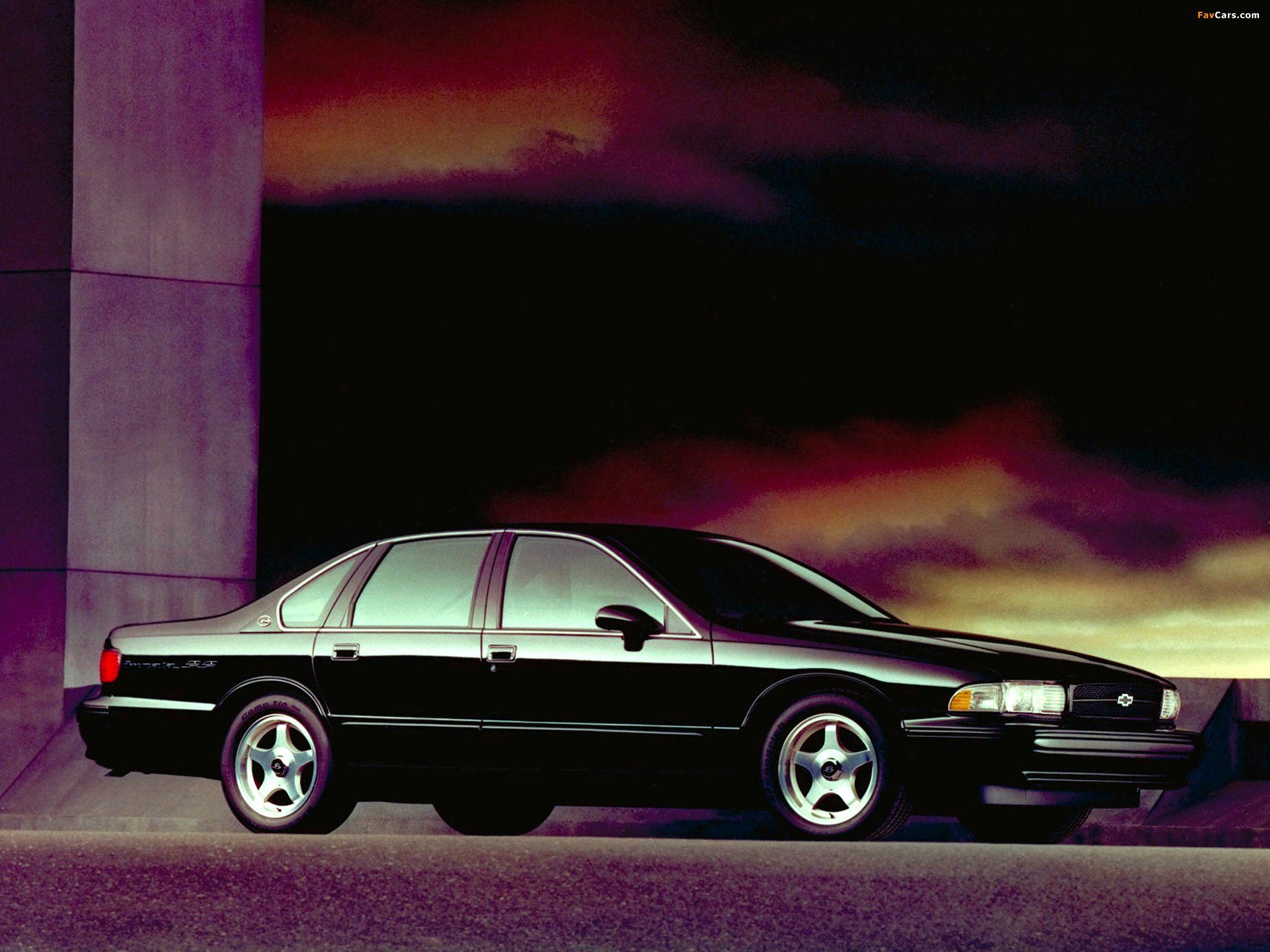 Wallpapers of Chevrolet Impala SS 1994–96