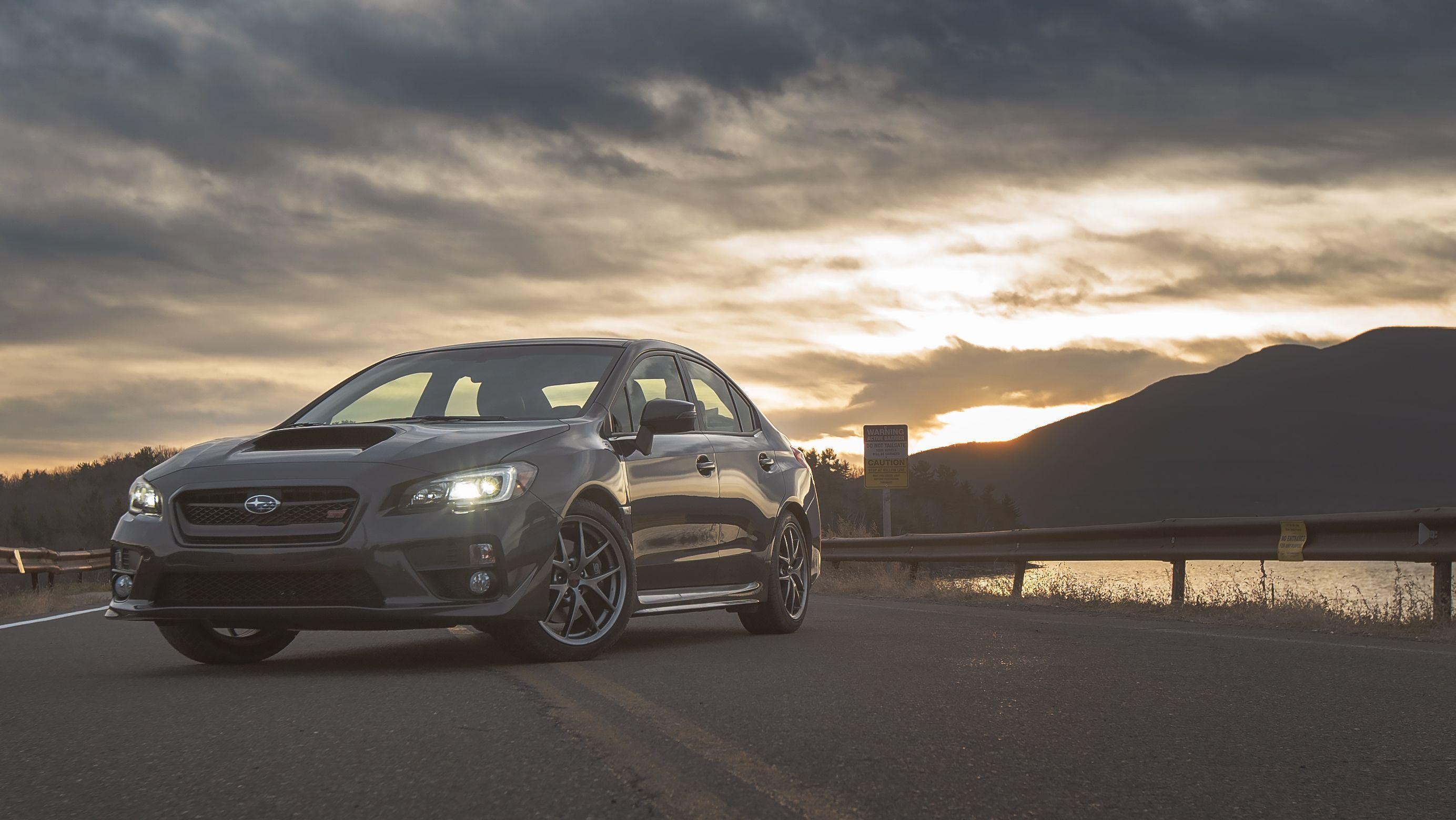 Your Ridiculously Awesome Subaru WRX STI Wallpaper Is Here