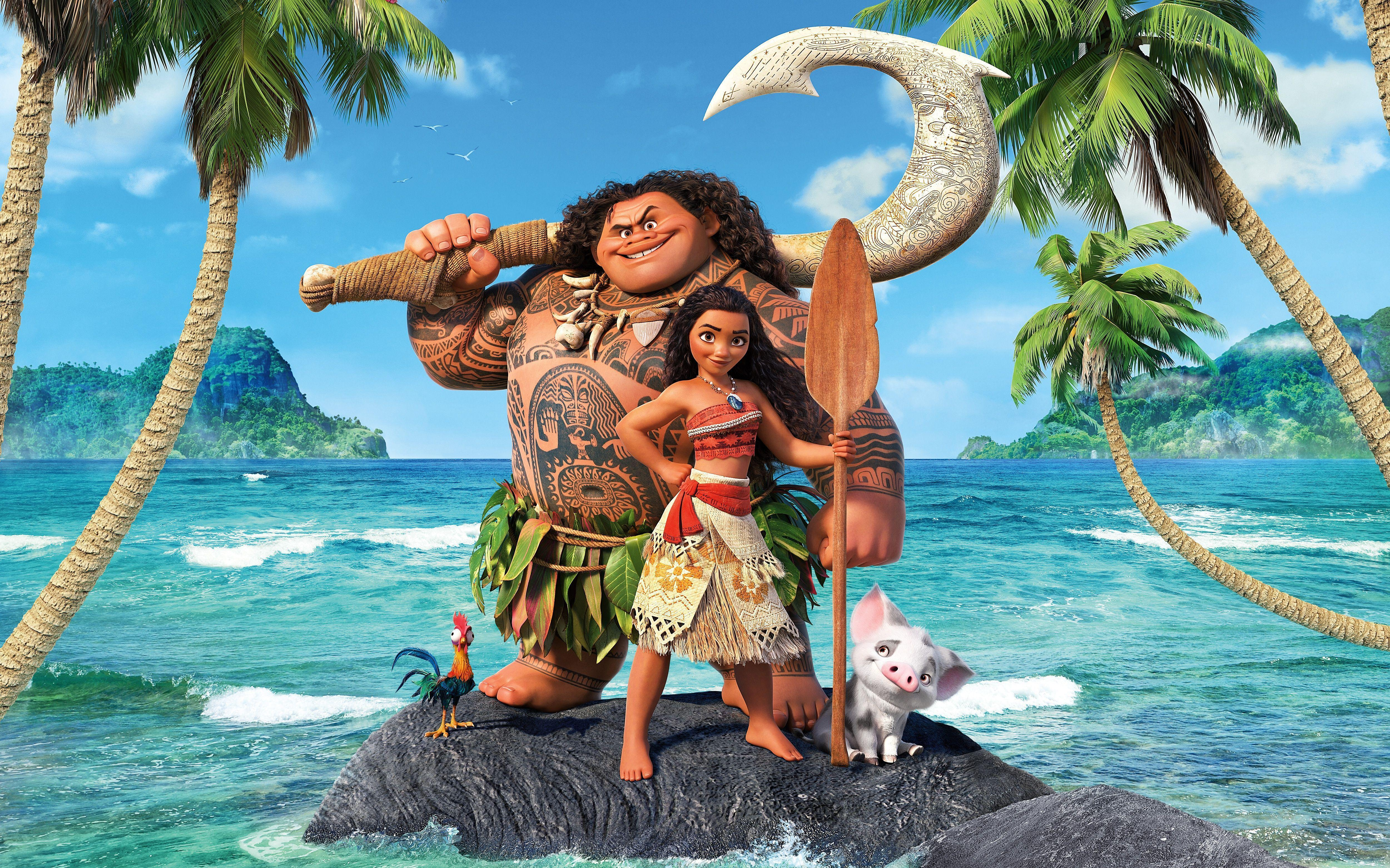 28 Moana HD Wallpapers | Backgrounds - Wallpaper Abyss