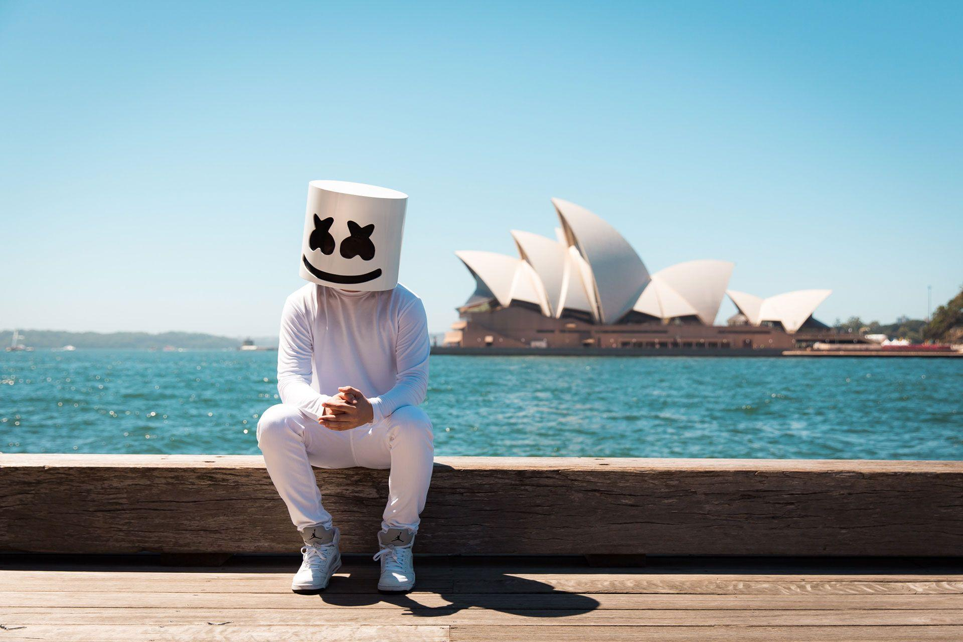 Marshmello DJ Wallpaper | Music HD Wallpapers