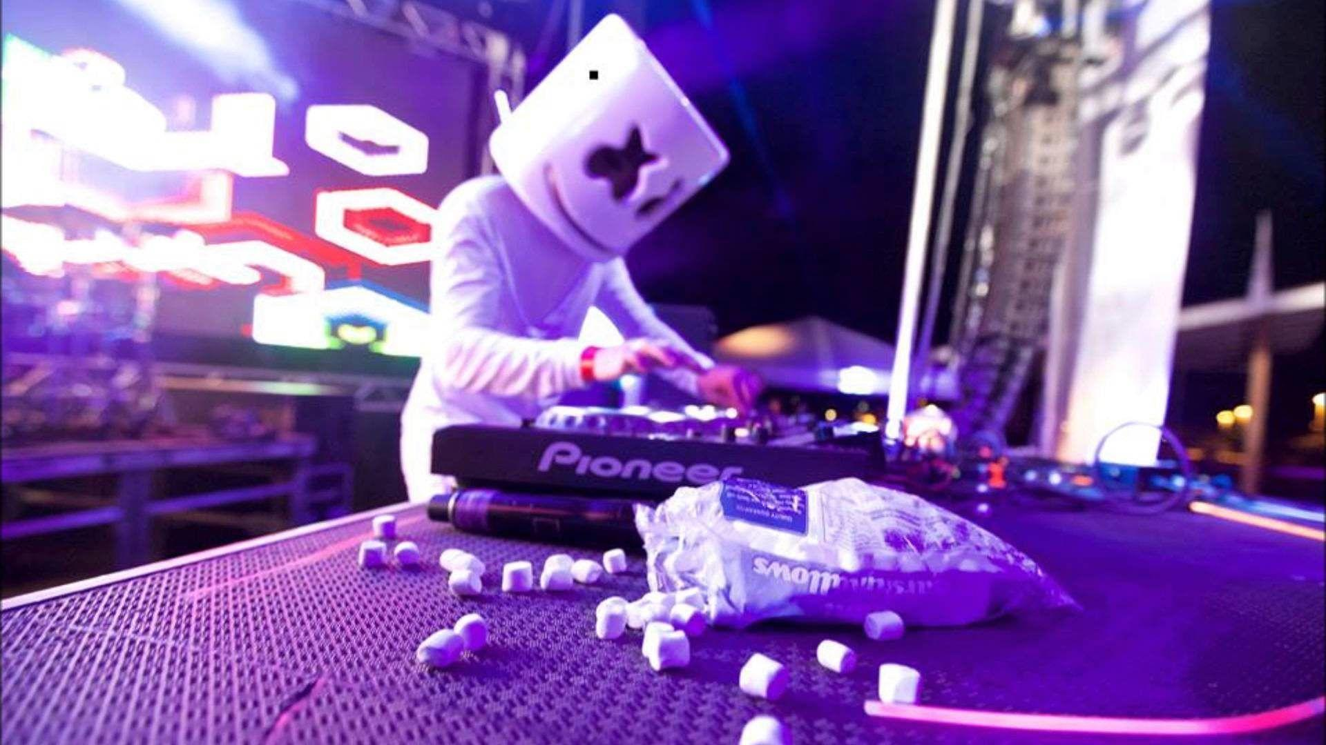 Marshmello Wallpaper For Desktop | HD Picturez