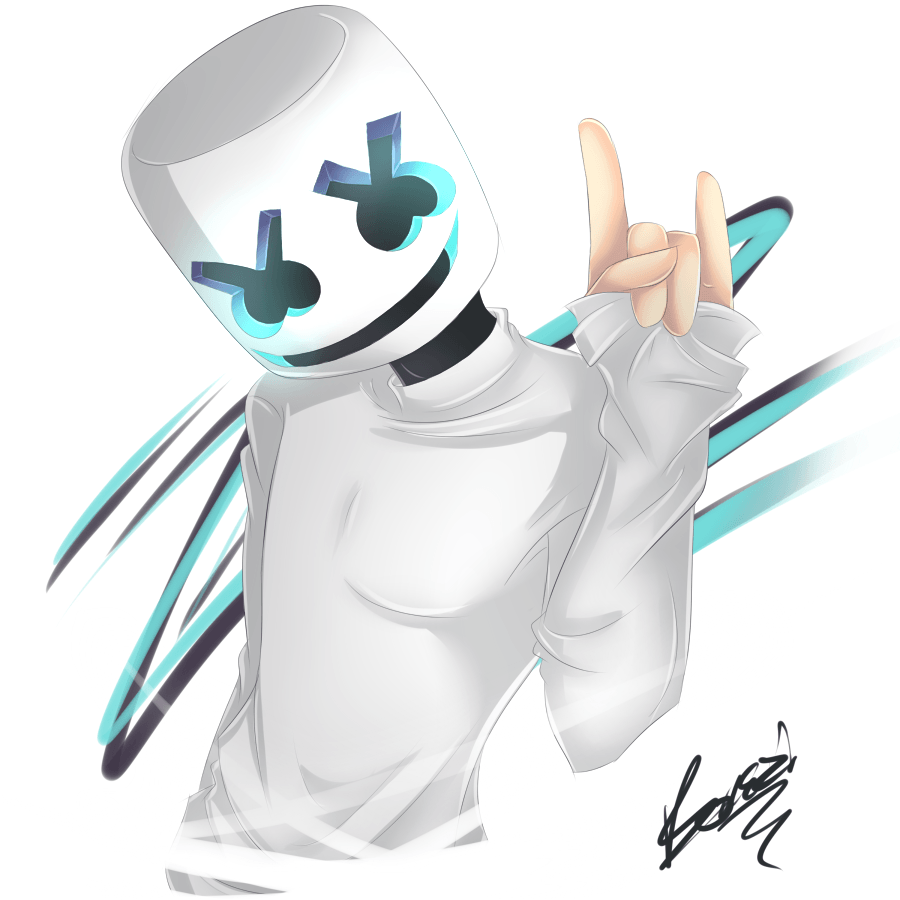 FanArt] - Marshmello by Zandiazz on DeviantArt