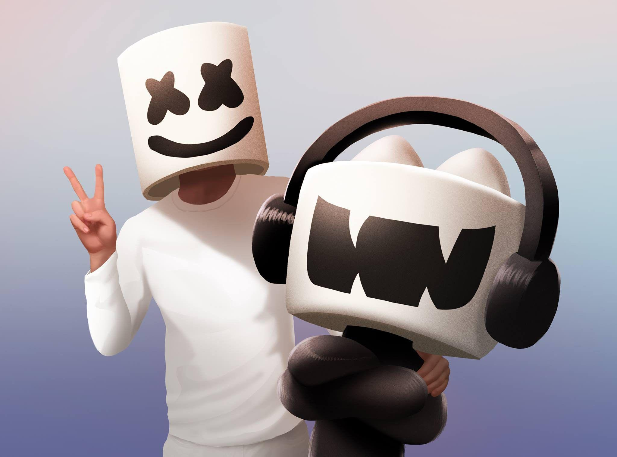 DJ Marshmello HD Wallpapers - Desktop Wallpapers