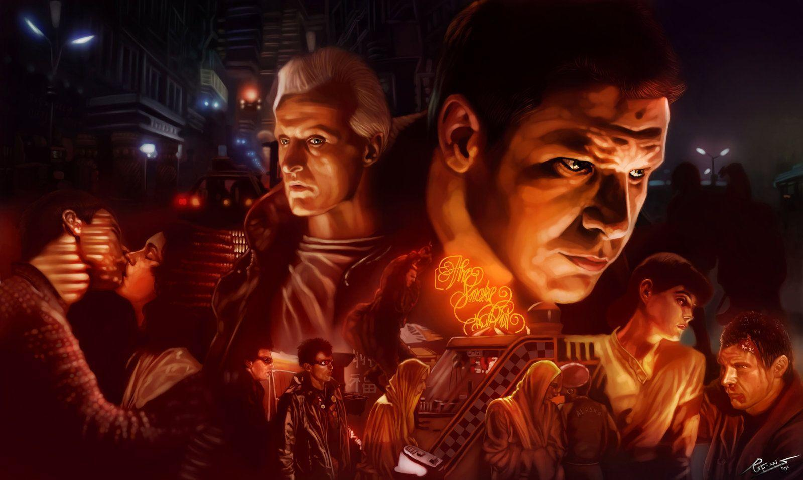 blade runner painting high resolution