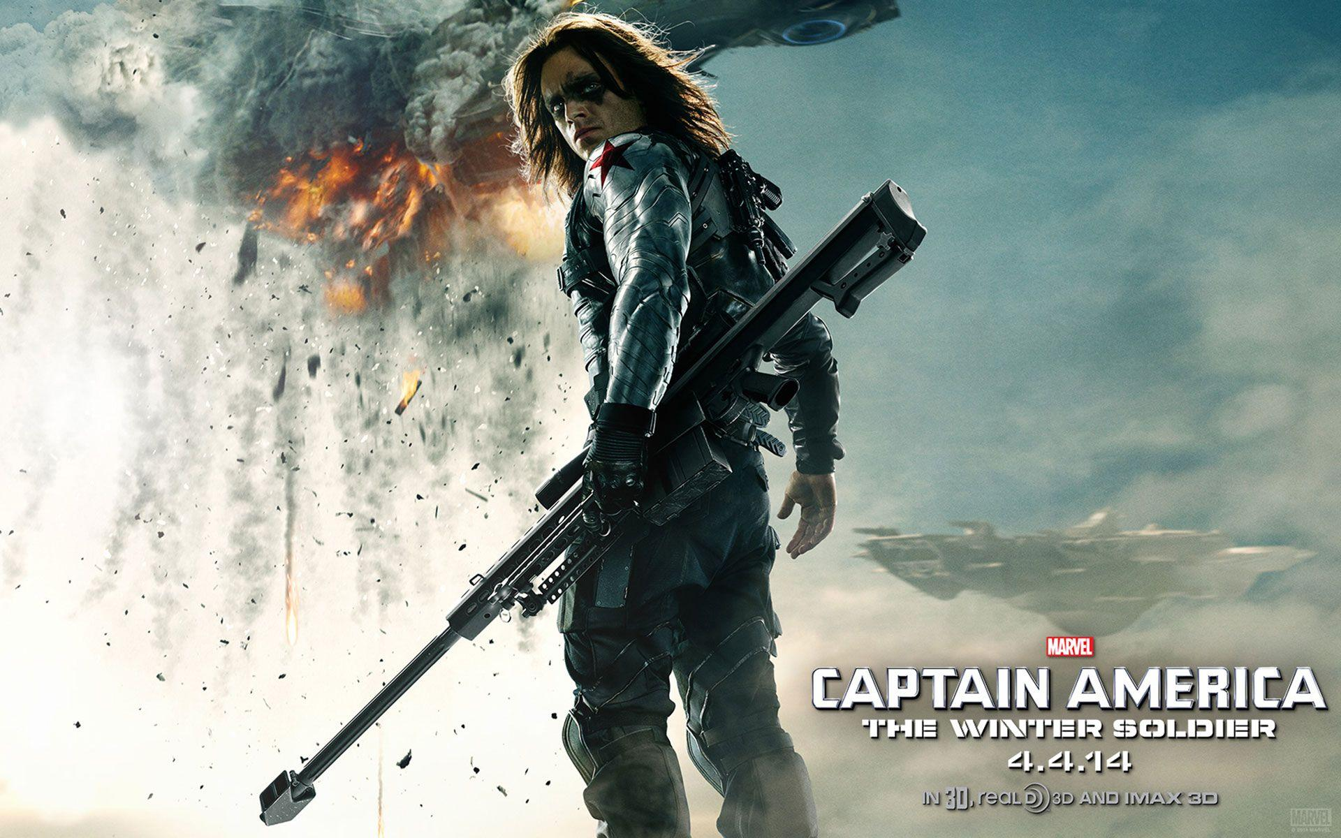 Captain America: The Winter Soldier HD Wallpapers & Facebook Covers