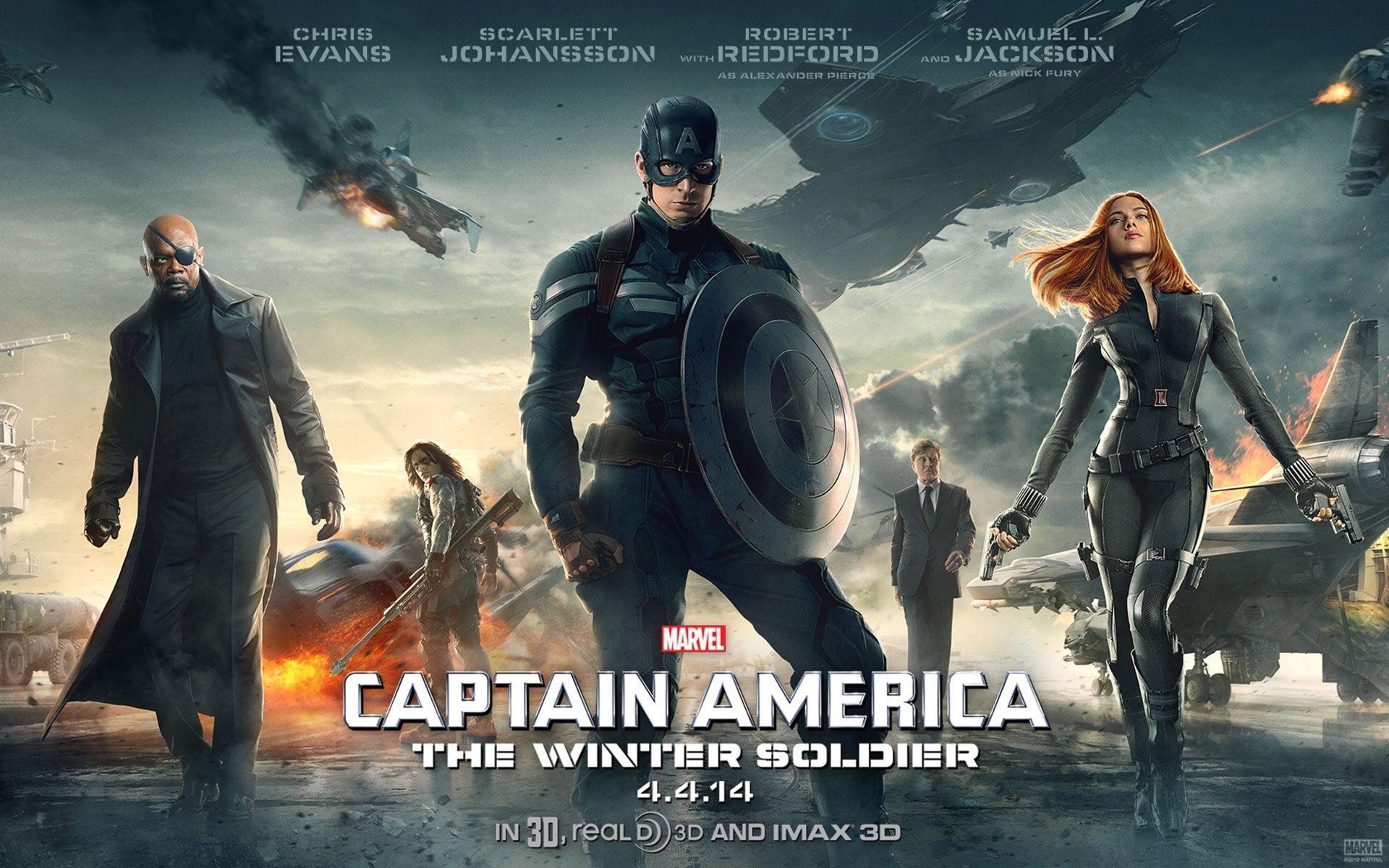 Captain America: The Winter Soldier Wallpapers - Wallpaper ...