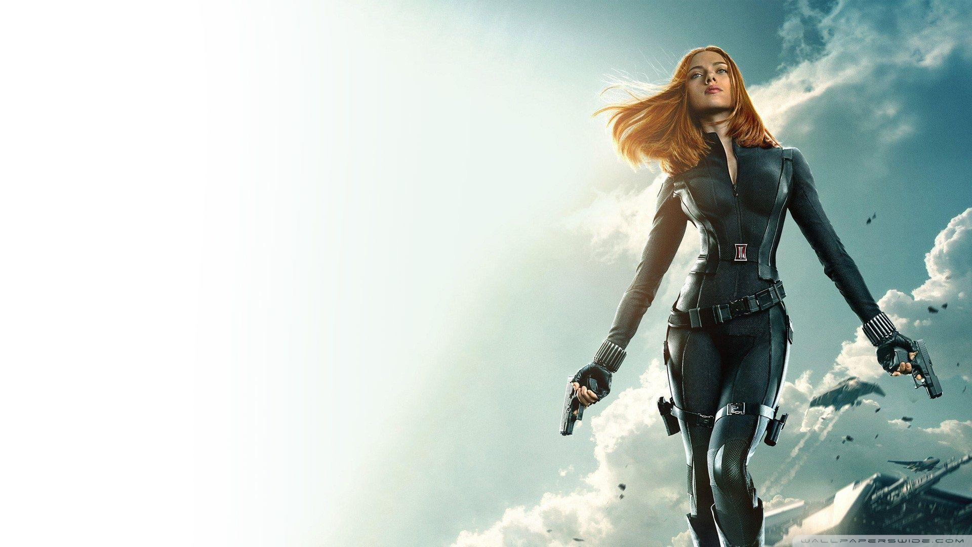 Captain America The Winter Soldier Black Widow 1080p HD desktop ...