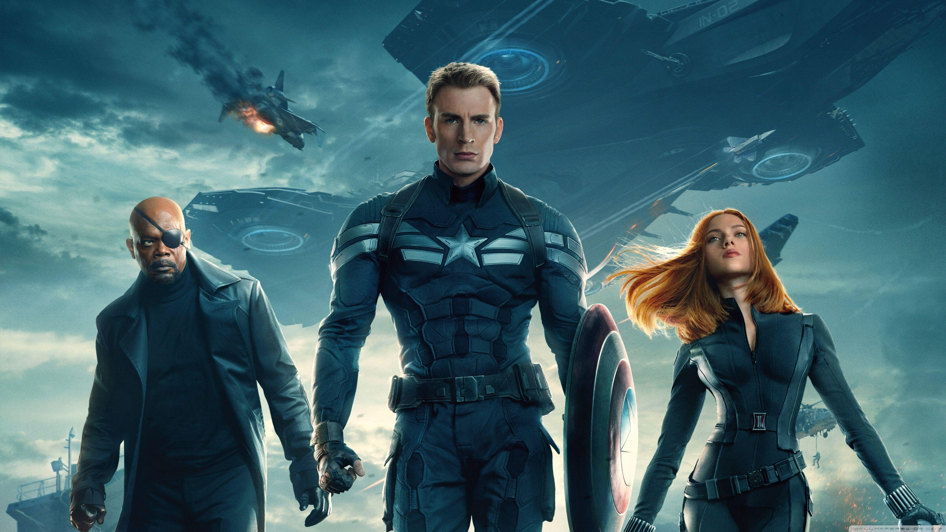 Captain America The Winter Soldier 2014 Movie HD desktop wallpapers