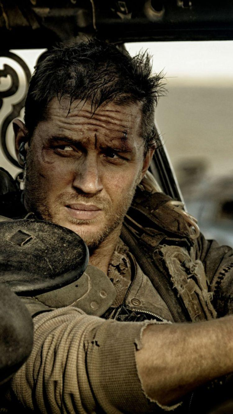 Download Wallpapers 750x1334 Mad max, Fury road, Tom hardy iPhone 6