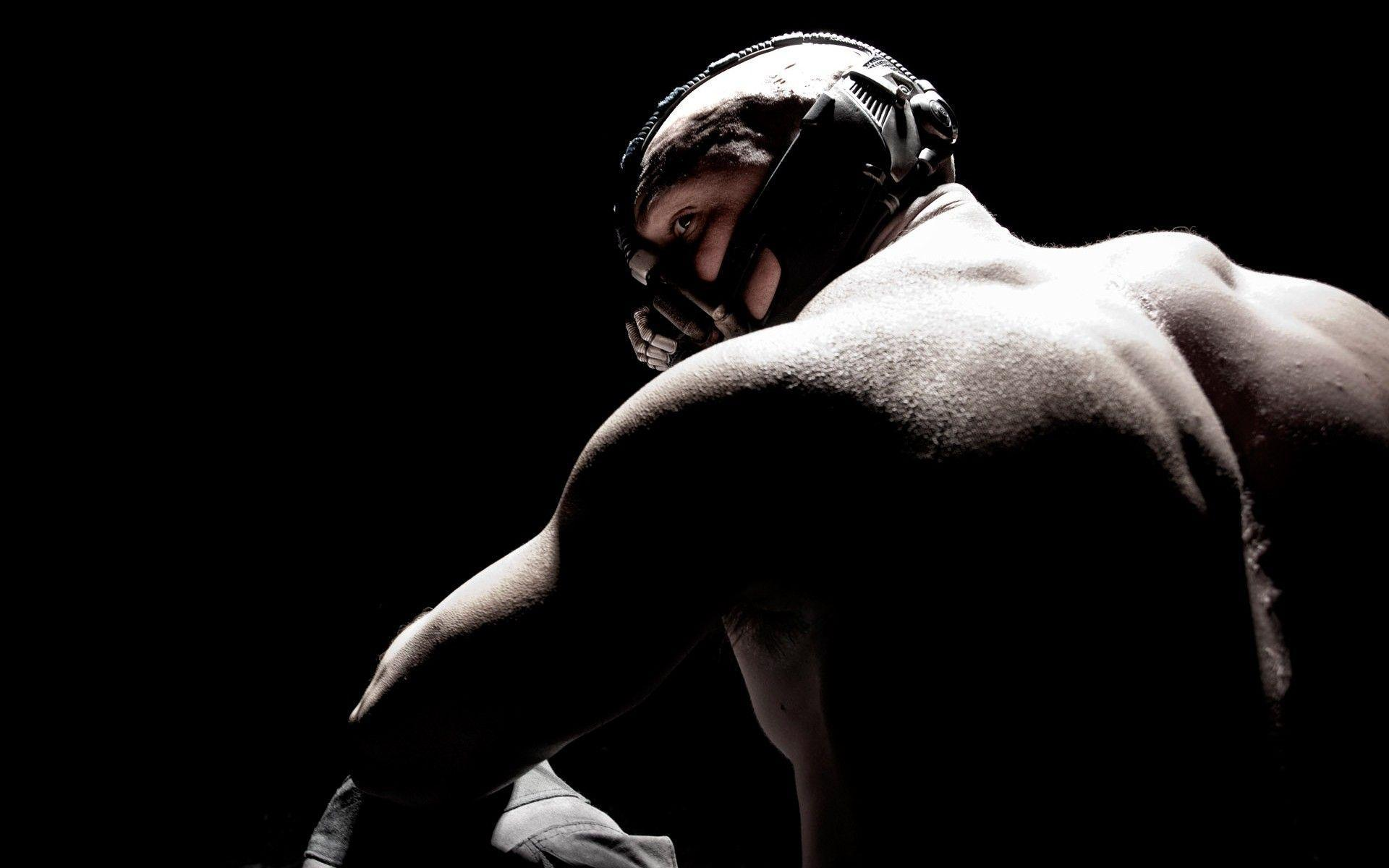 Tom Hardy as Bane in DARK KNIGHT RISES Wallpapers