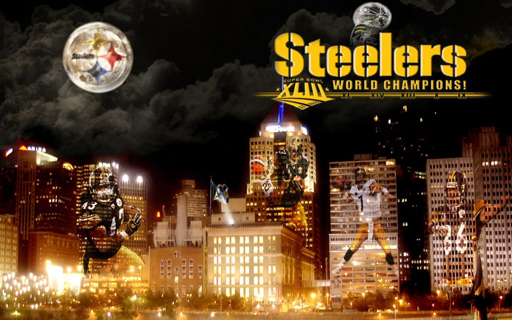 Pittsburgh Steelers Wallpapers - Wallpapers Insider | Free HD 4K ...