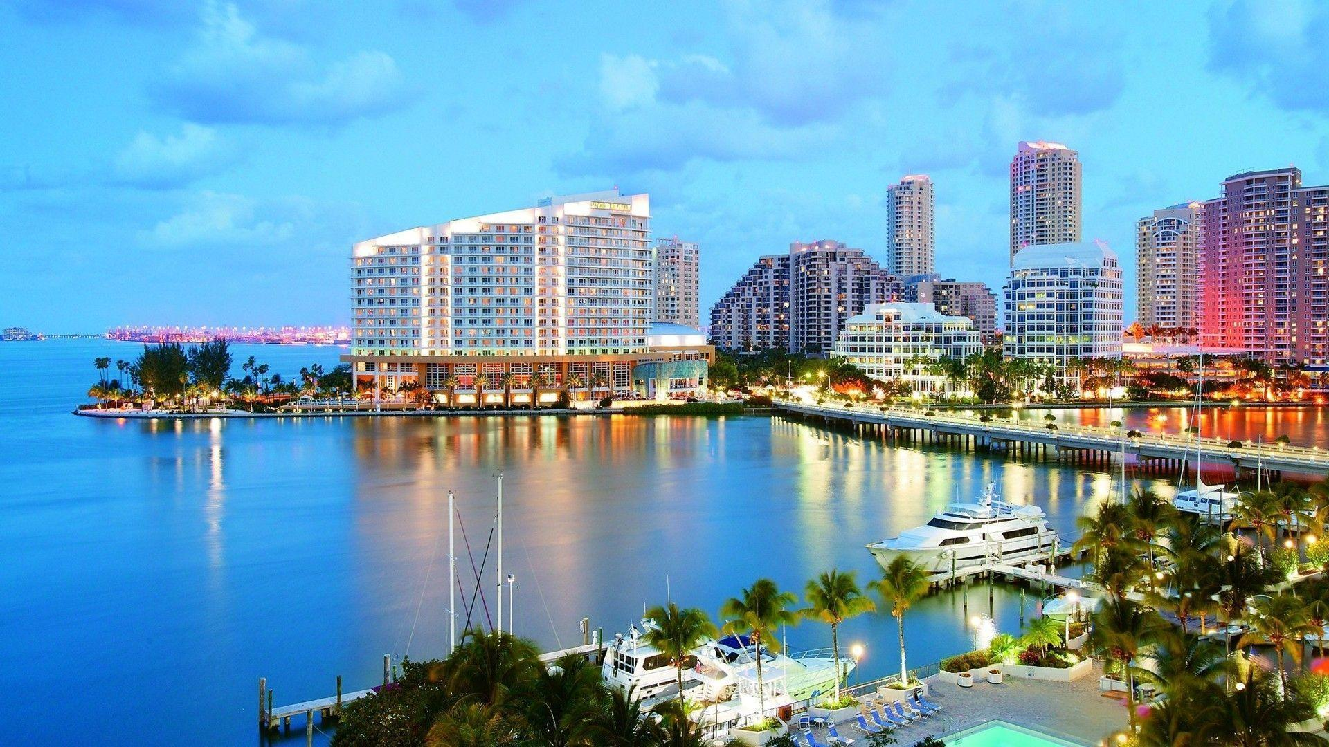 Miami City In Florida Wallpapers Cool Image