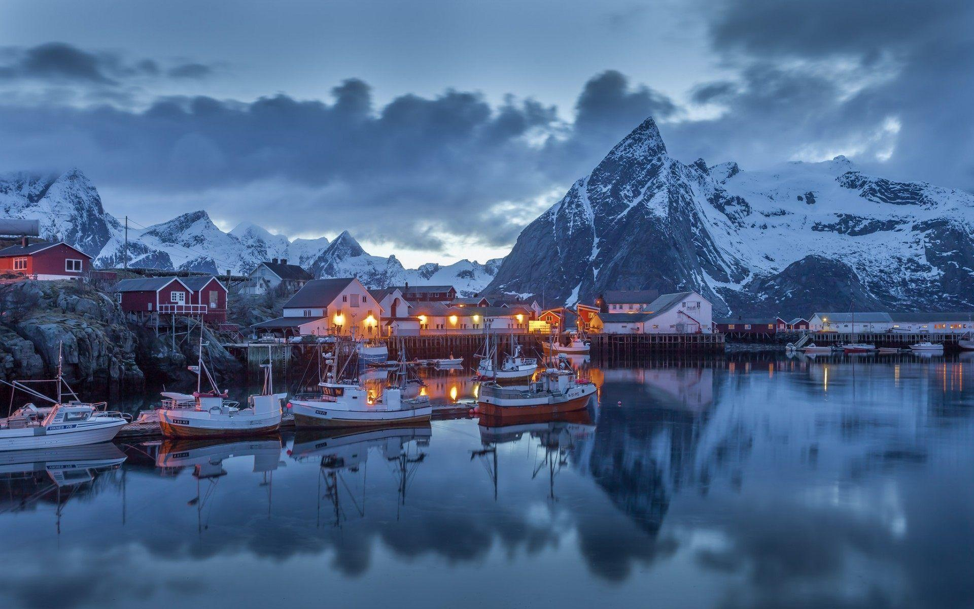 Lofoten Islands Norway Wallpaper For Desktop Free Download