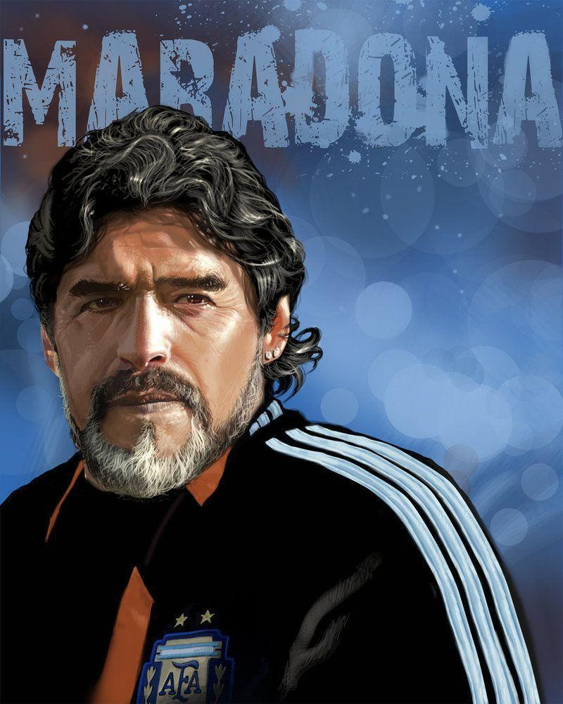 Diego Maradona Wallpapers HD Mobile Iphone 6s Galaxy • iPhones