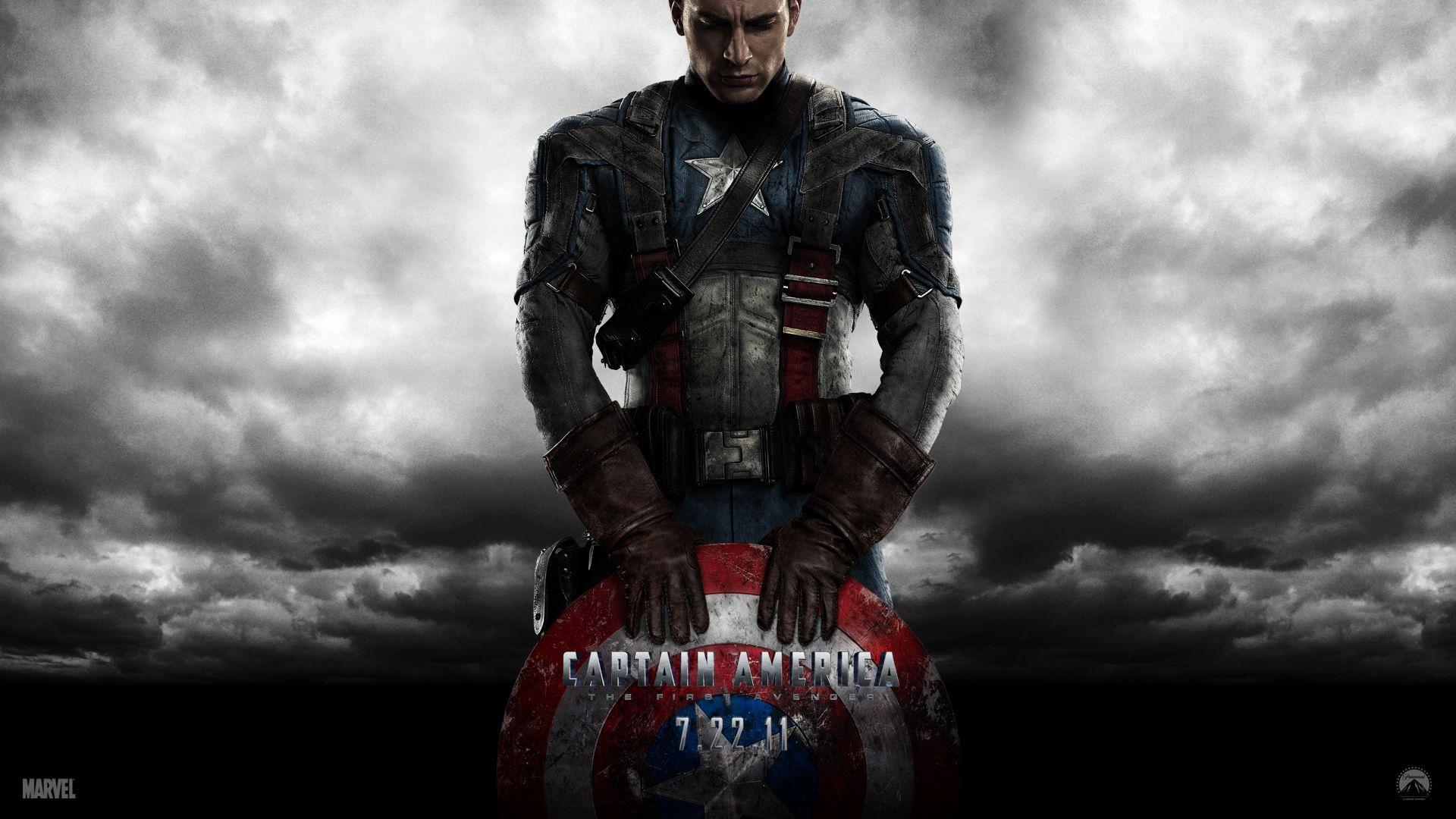 Captain America Chris Evans - wallpaper.