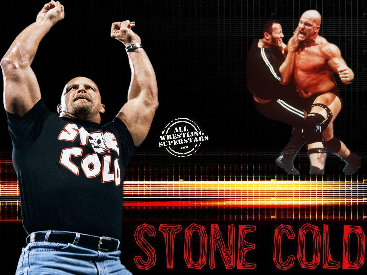 The Rock And Stone Cold Wallpapers Wallpaper Cave