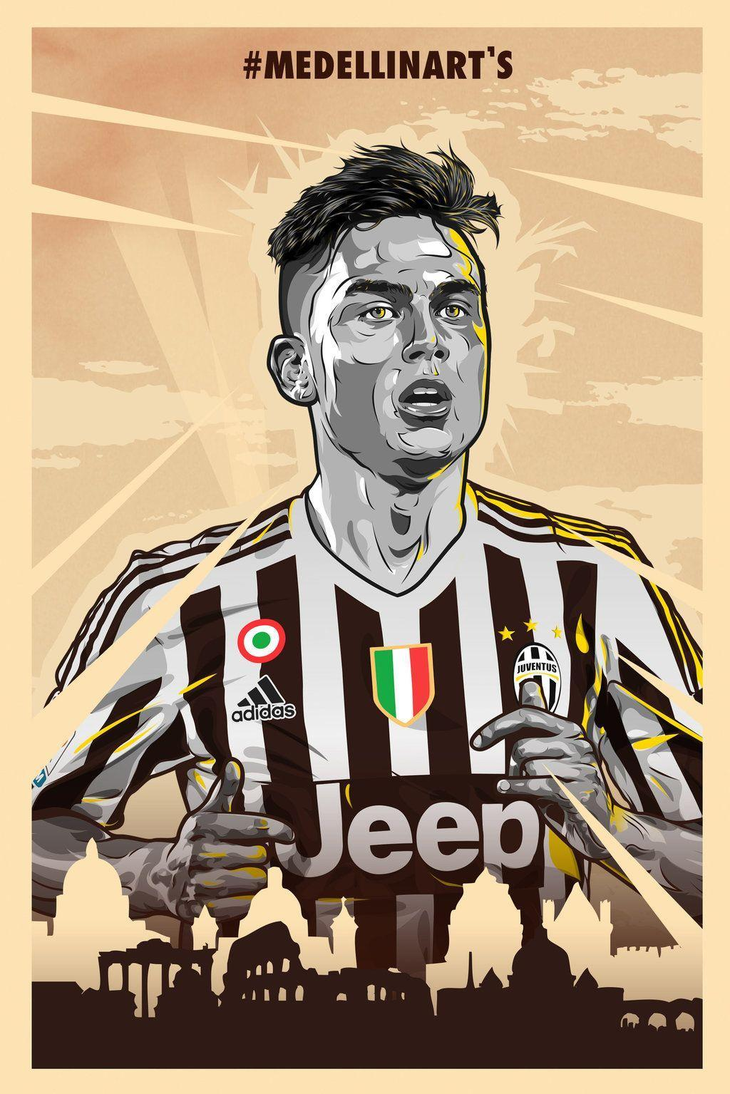 Dybala Cartoon Wallpapers Wallpaper Cave