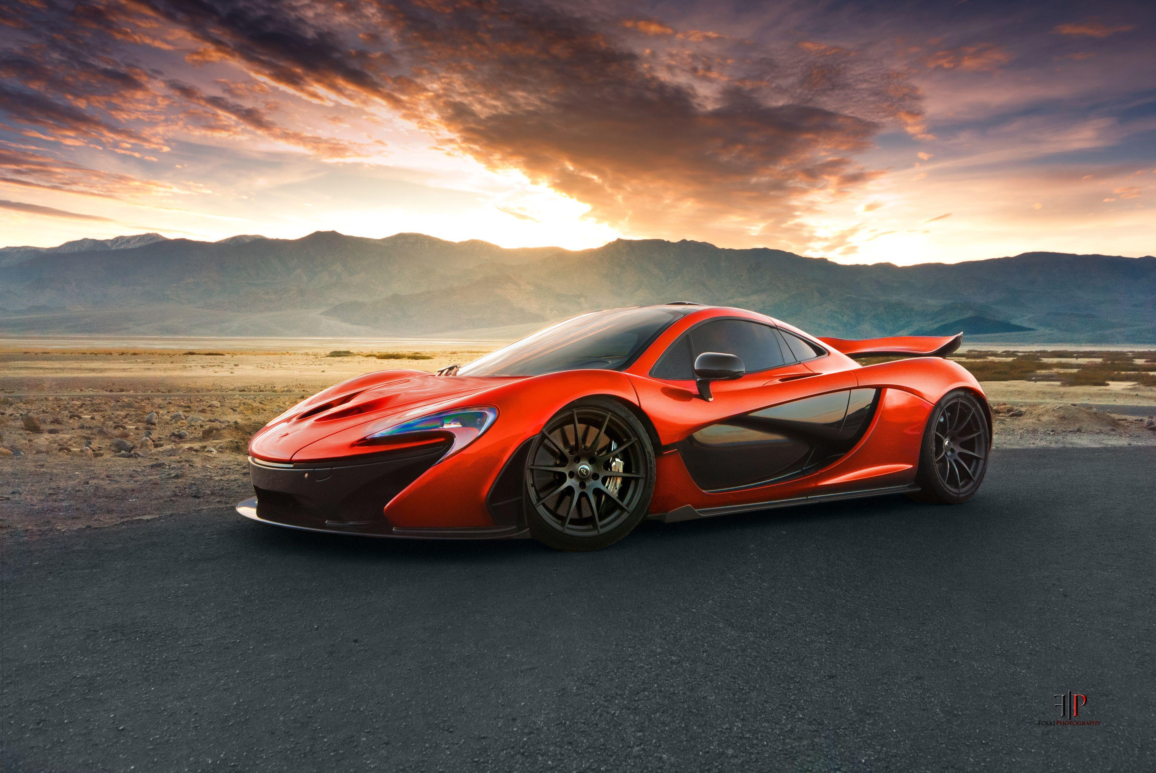 Mclaren P1 Orange Wallpaper