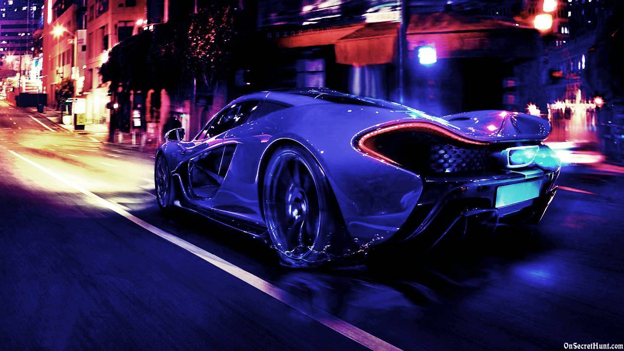 blue mclaren p1 wallpaper - photo #5
