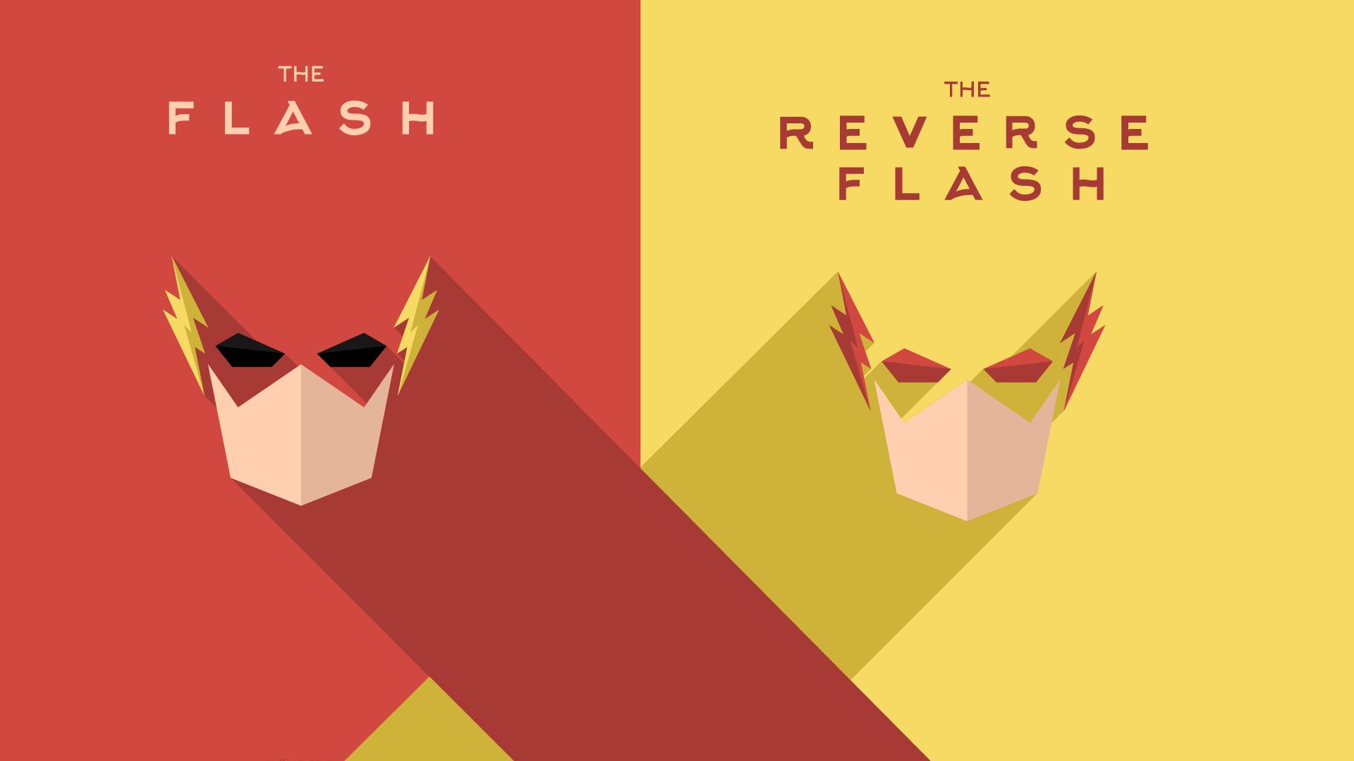 Flash Vs Reverse Flash Wallpaper: Zoom The Flash Wallpapers