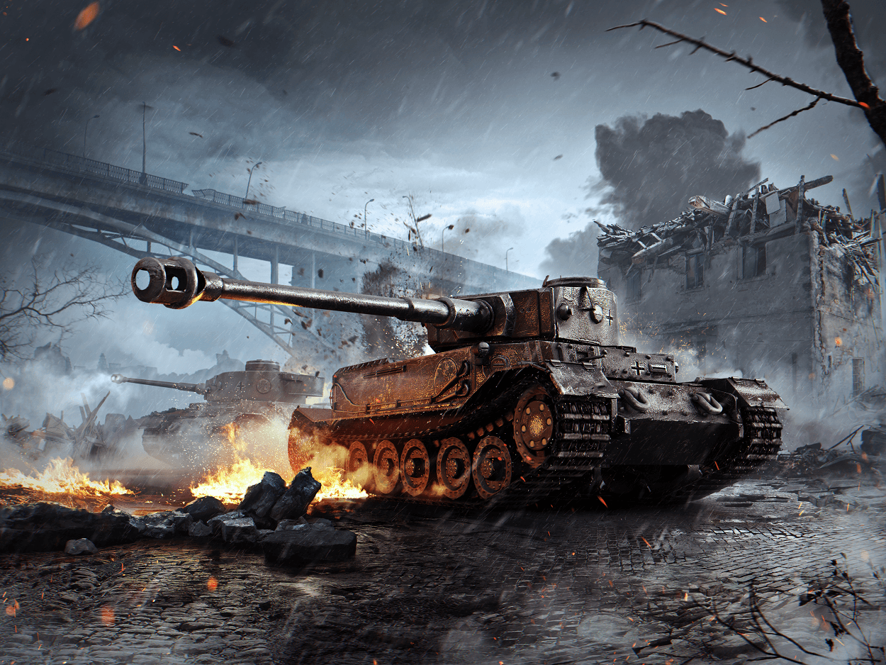 W.tiger World Of Tanks Tiger Tank Wallpapers ...