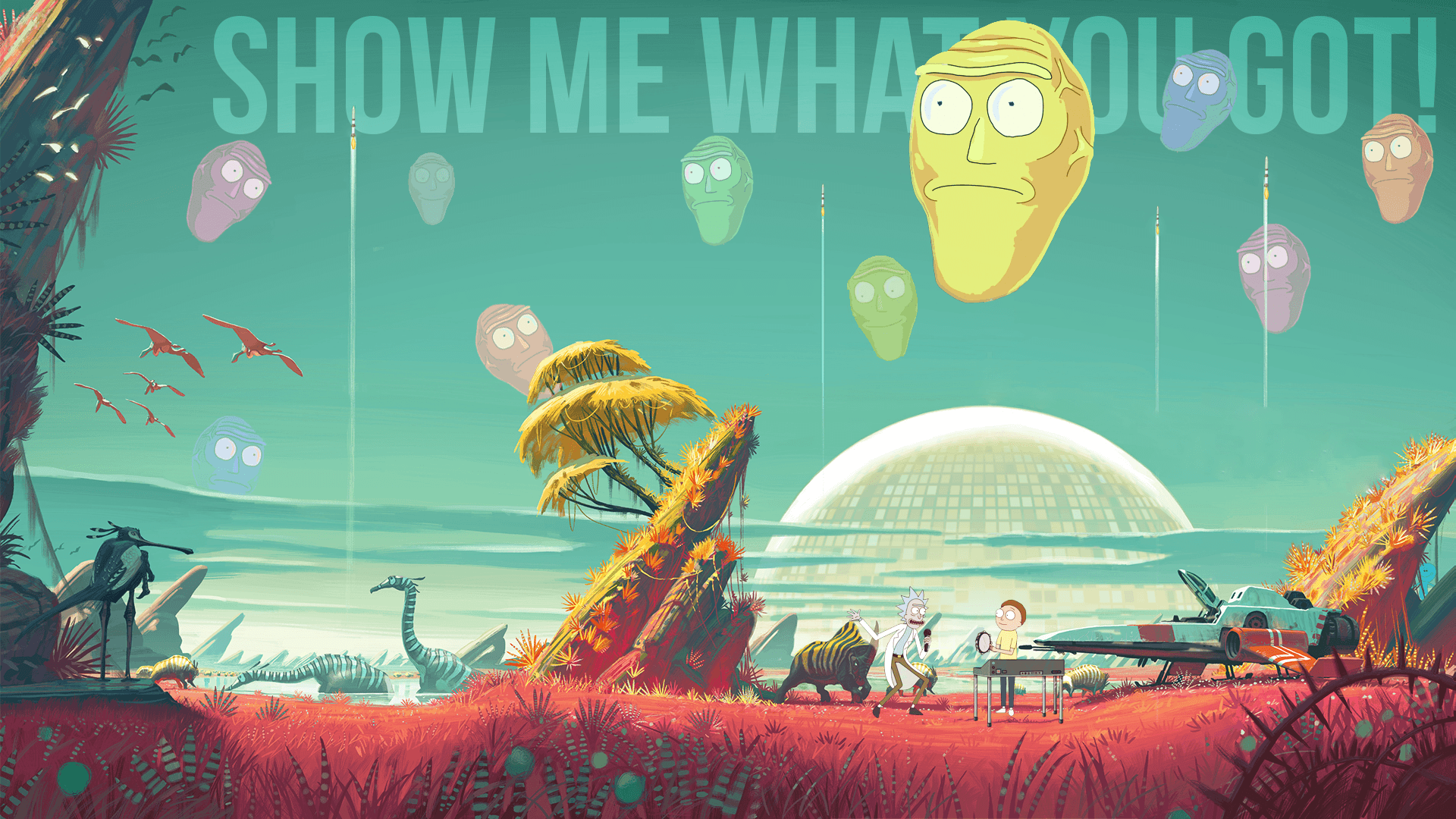 Rick And Morty Wallpapers - Wallpaper Cave
