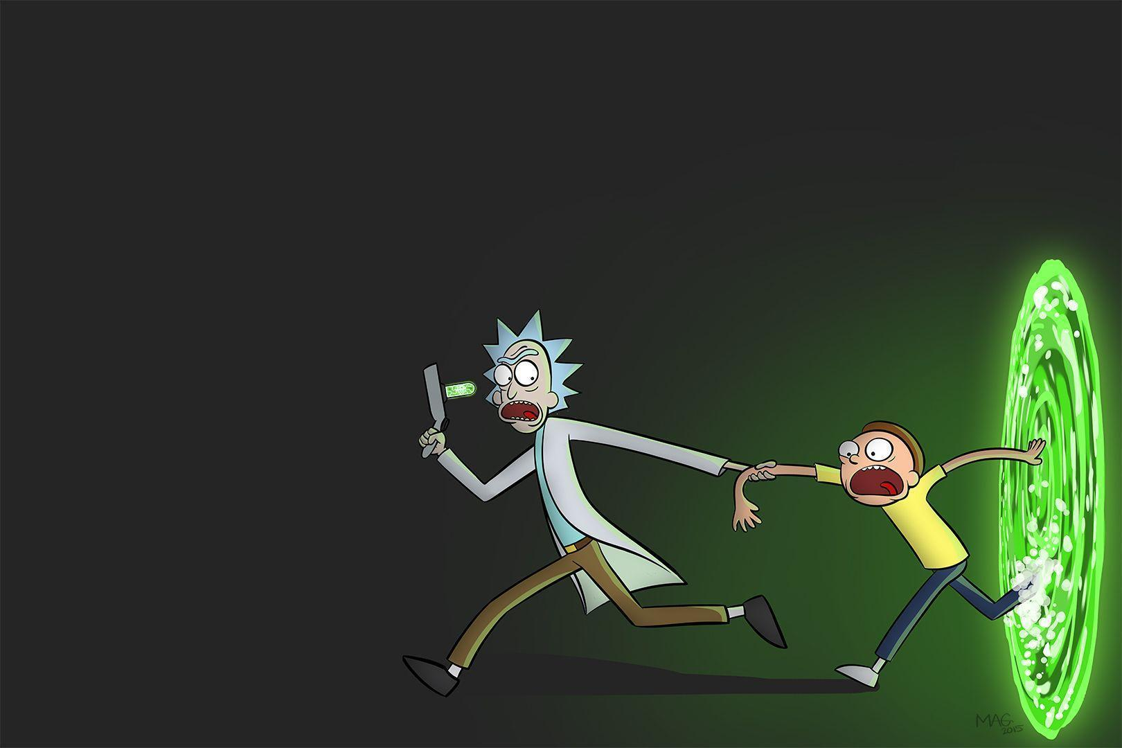 Rick and morty wallpapers wallpaper cave - Evil morty wallpaper 4k ...