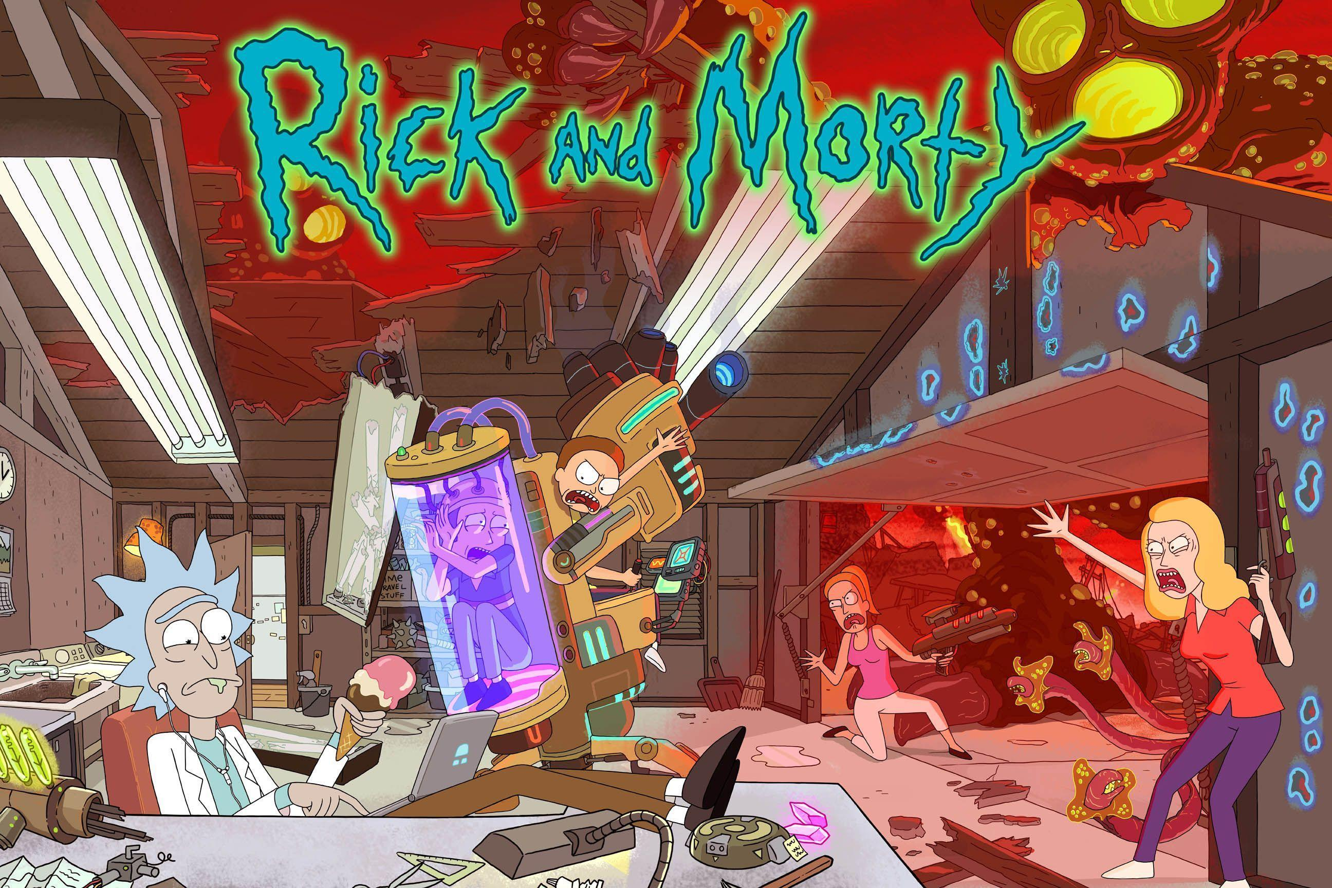 Rick And Morty TV Cartoon wallpapers HD 2016 in Cartoons