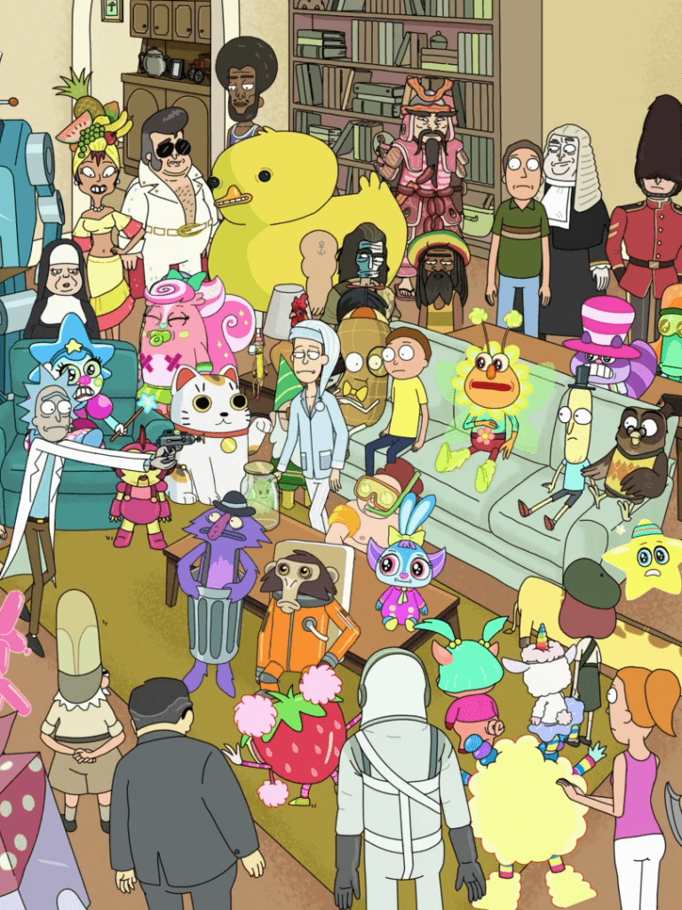 768x1024 - TV Show/Rick And Morty - Wallpaper ID: 578951