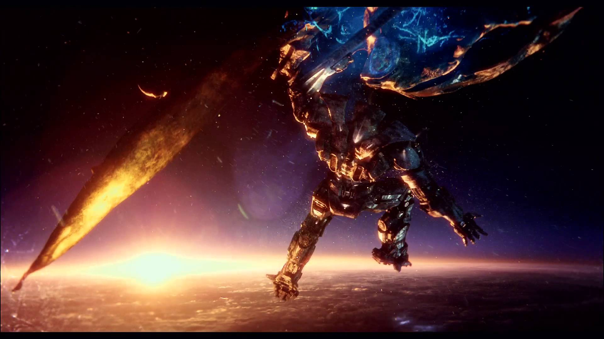 Pacific Rim Fight Scene Wallpaper Free Download