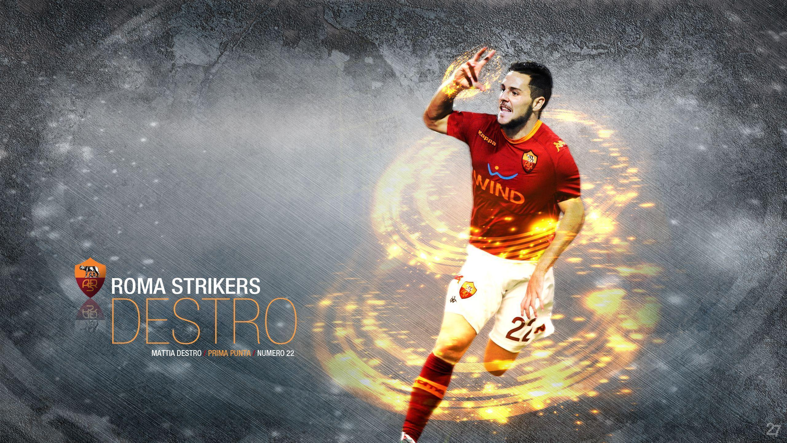 As Roma FC Desktop Backgorund